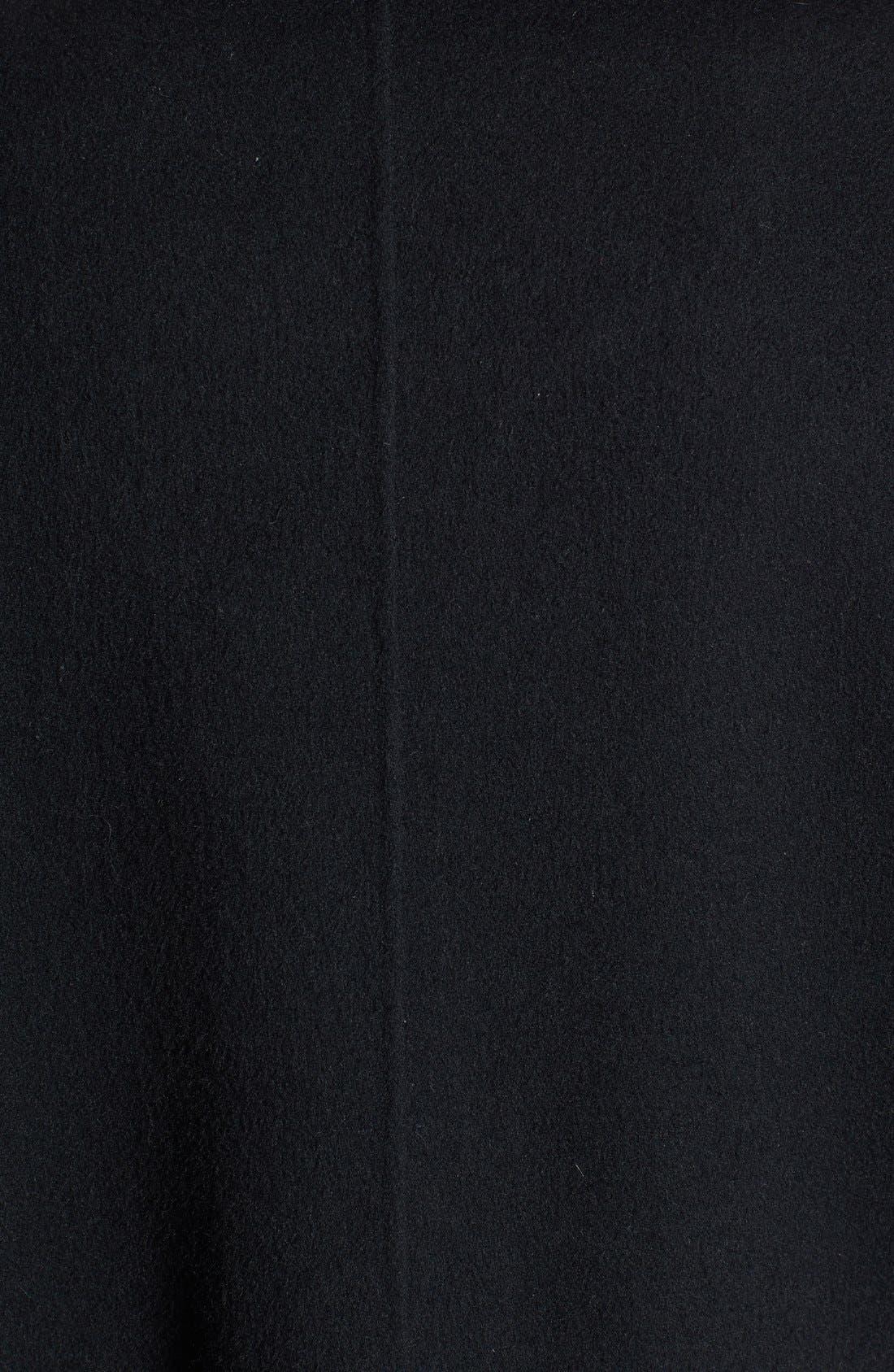 Alternate Image 4  - Eileen Fisher Knit Funnel Collar Wool Blend Coat (Petite) (Online Only)