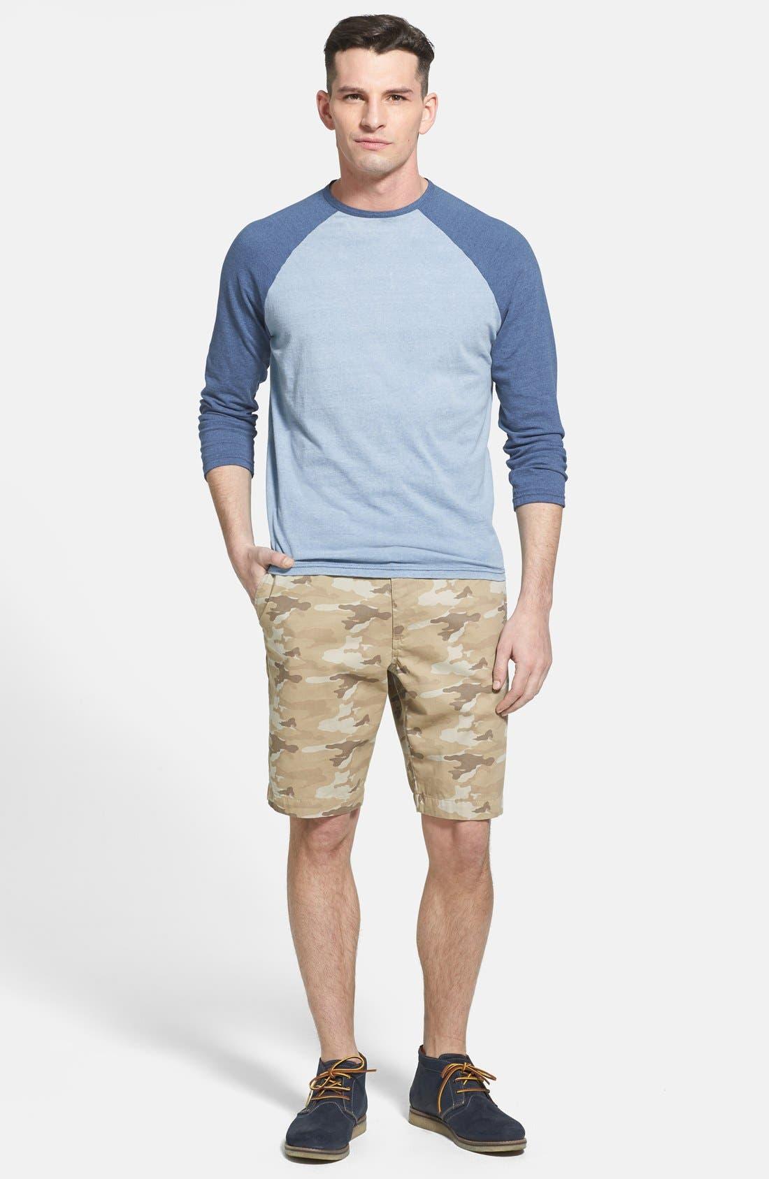 Alternate Image 4  - Faherty Raglan Sleeve Baseball T-Shirt