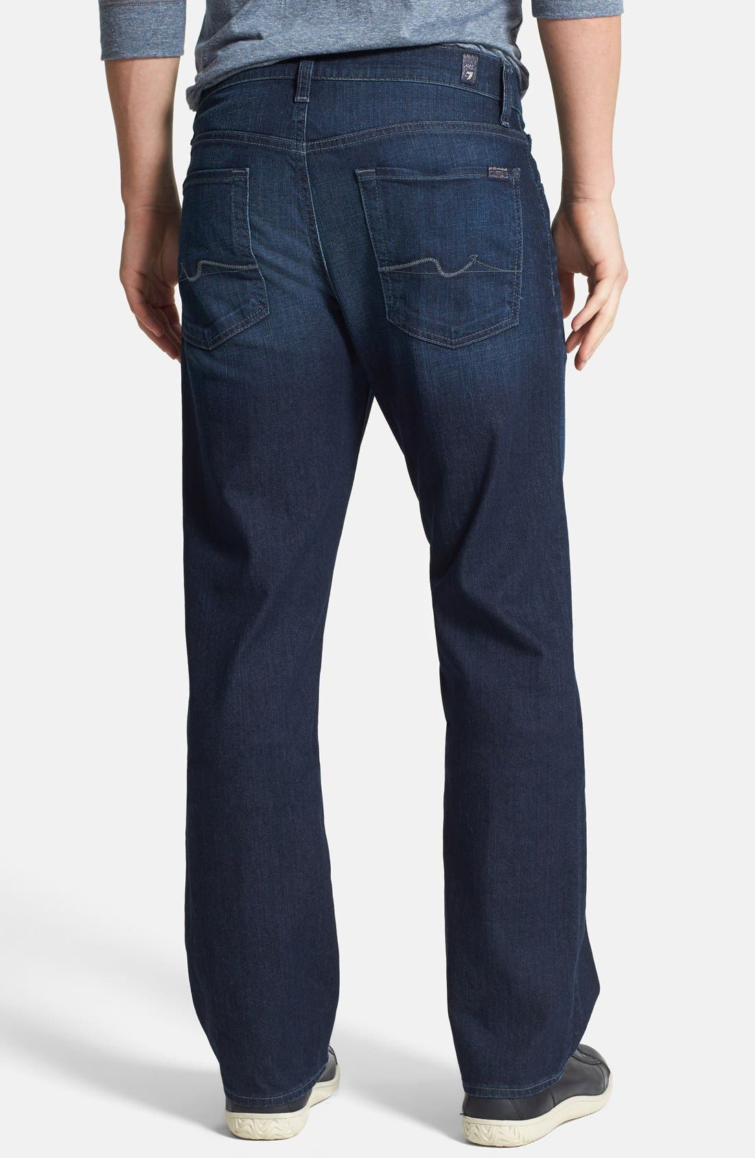 Alternate Image 2  - 7 For All Mankind® 'Austyn' Relaxed Straight Leg Jeans (Broadview Way)