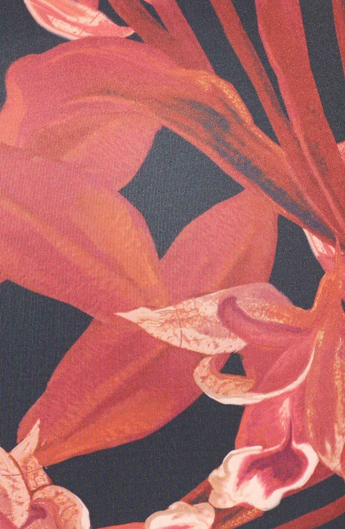 Alternate Image 3  - Ted Baker London 'Jungle Orchid' Print Neoprene Midi Dress
