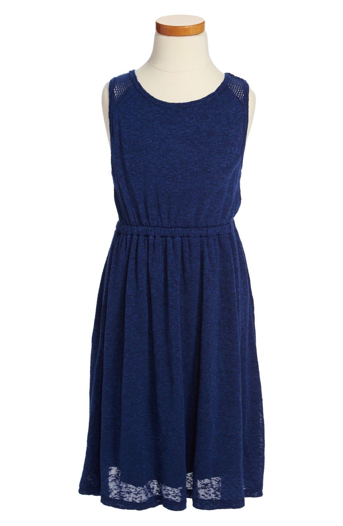 Alternate Image 1 Selected - Ella Moss Tank Dress (Big Girls)