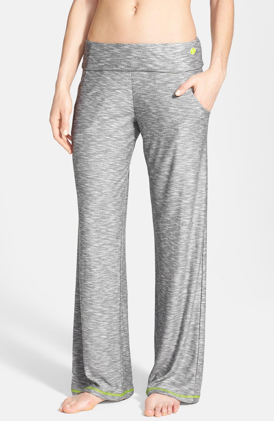 Alternate Image 1 Selected - Trina Turk Recreation Foldover Lounge Pants