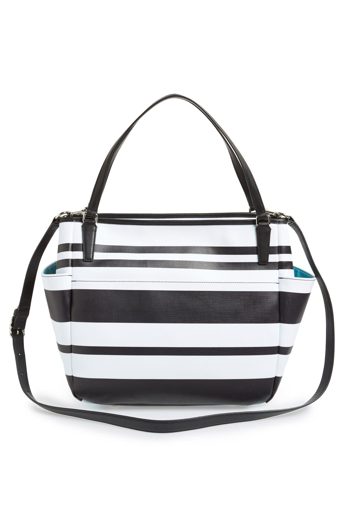 Alternate Image 3  - COACH Stripe Diaper Bag