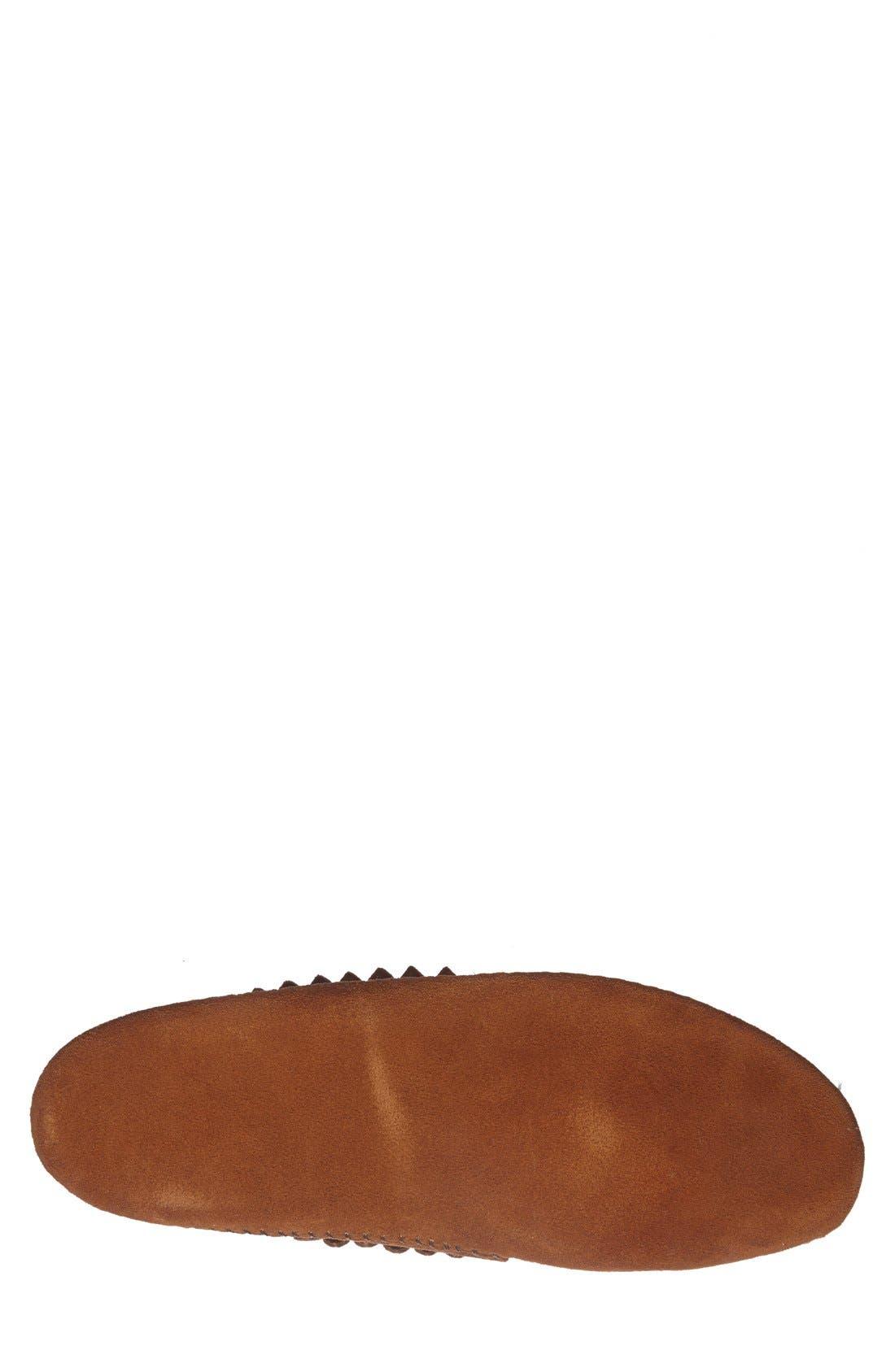Alternate Image 4  - Minnetonka Fringe Boot (Men)