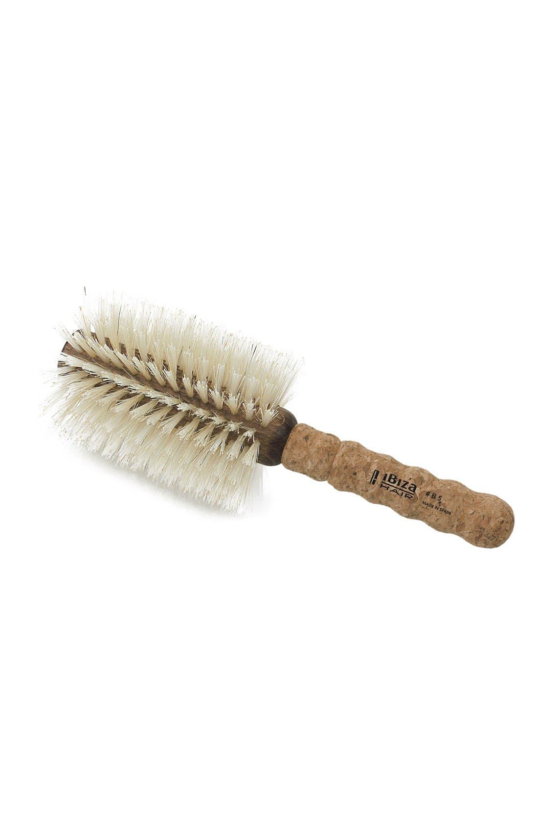 Main Image - Ibiza Hair B5 Blonde Extended Cork Round Brush (Extra Large)