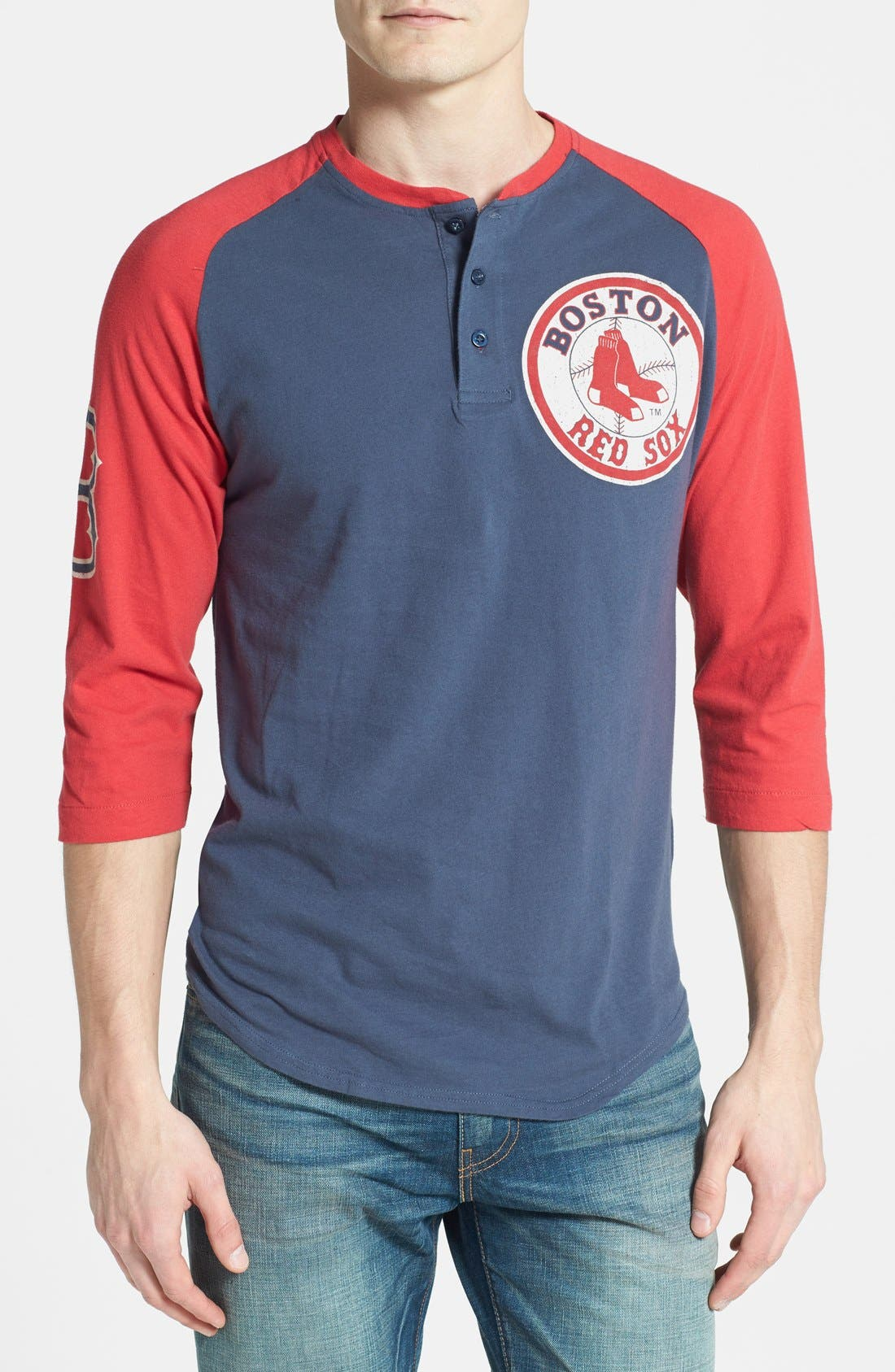 Main Image - Wright & Ditson 'Boston Red Sox' Baseball Henley