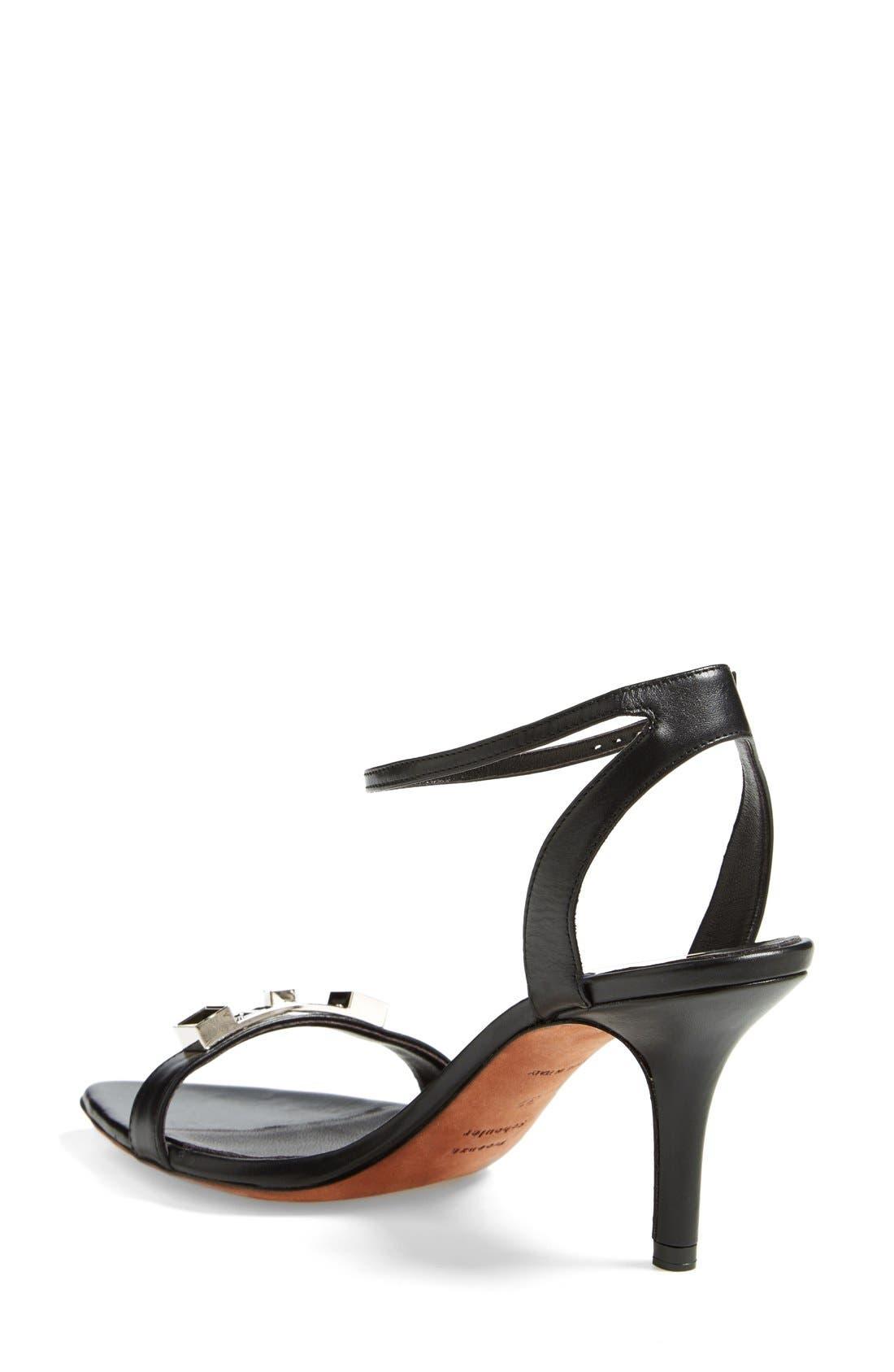 Alternate Image 2  - Proenza Schouler Leather Ankle Strap Sandal