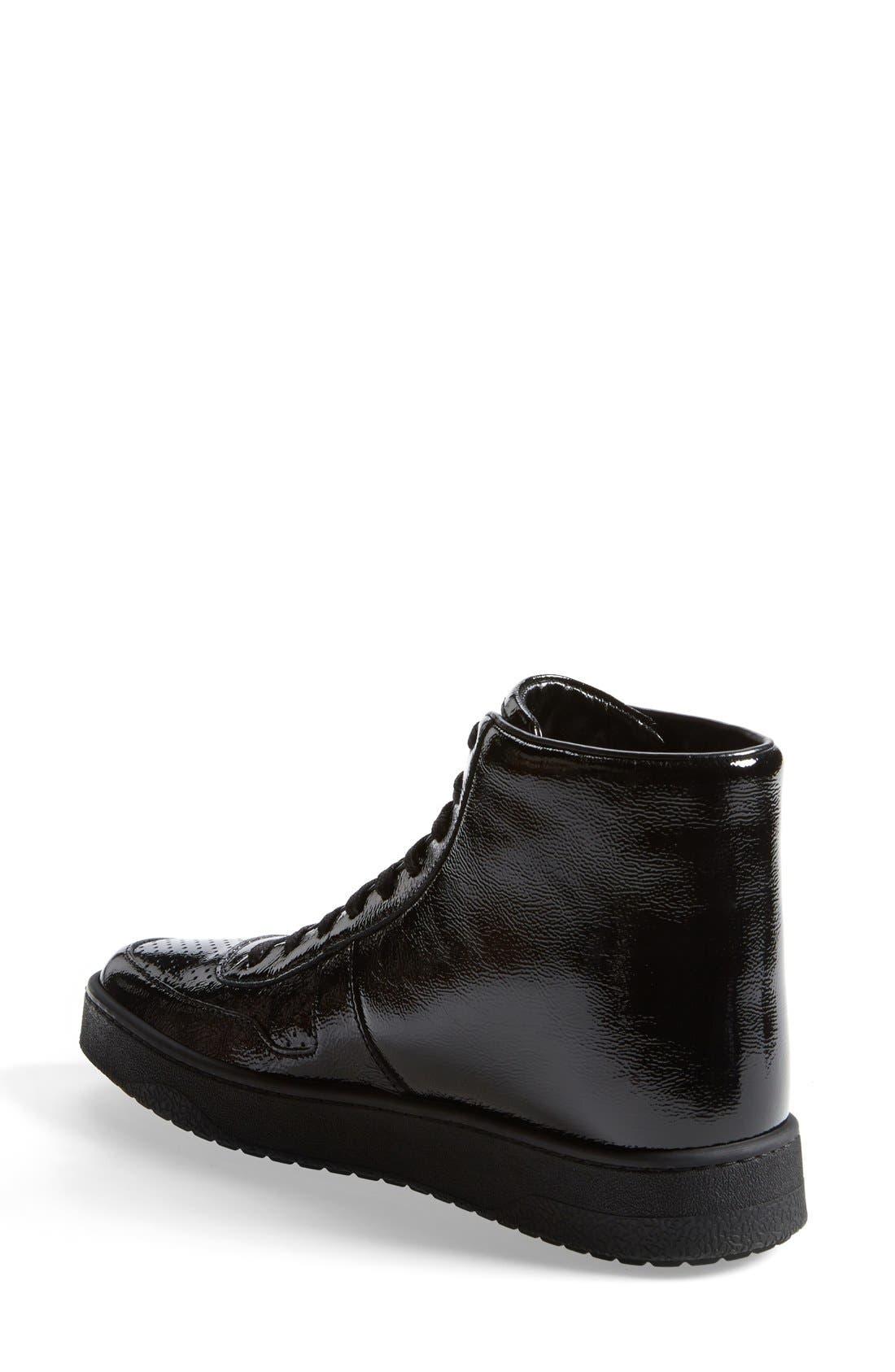 Alternate Image 2  - Gucci 'Soho' High Top Sneaker (Women)
