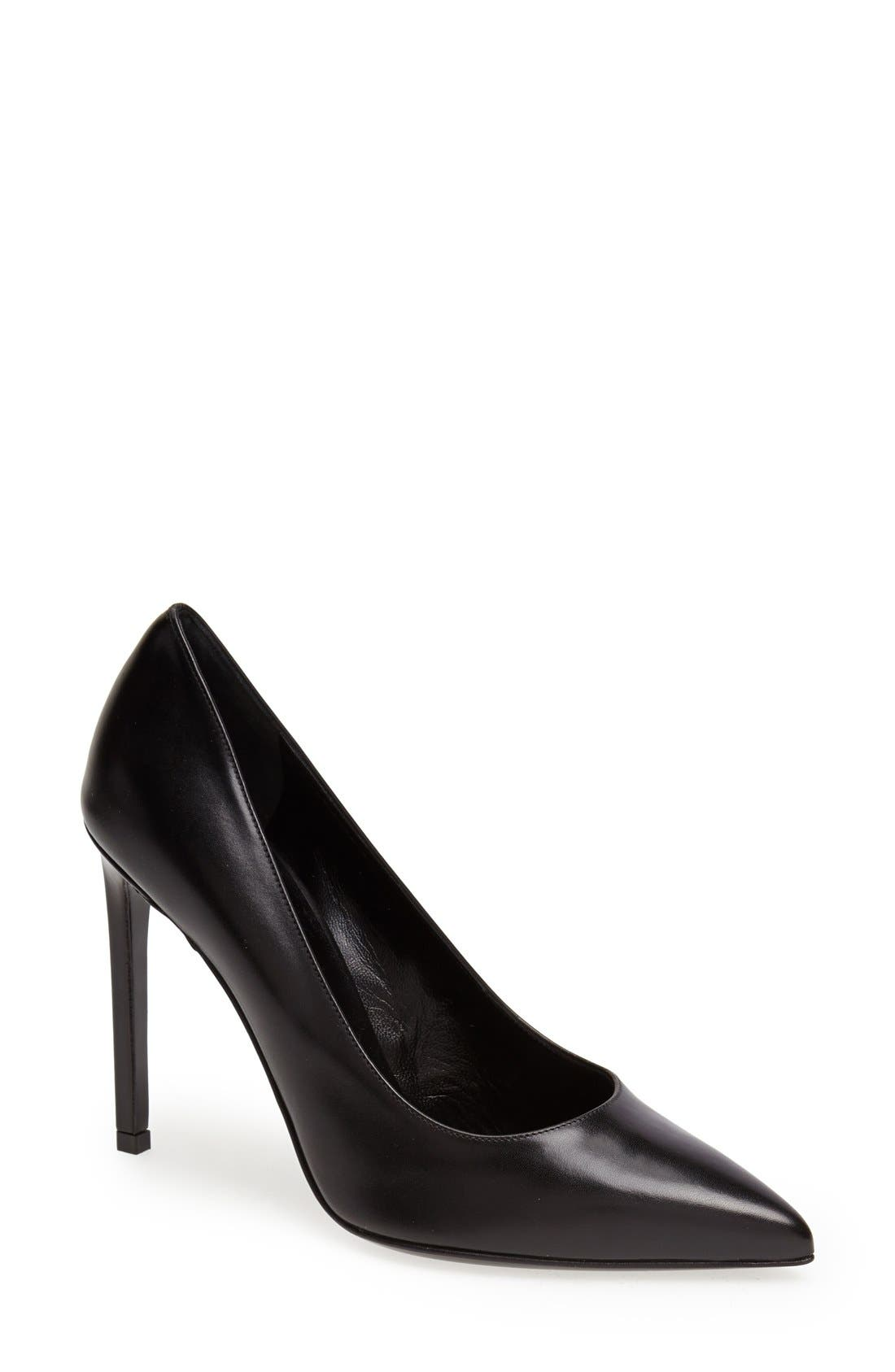 Alternate Image 1 Selected - Saint Laurent 'Paris' Pointy Toe Pump