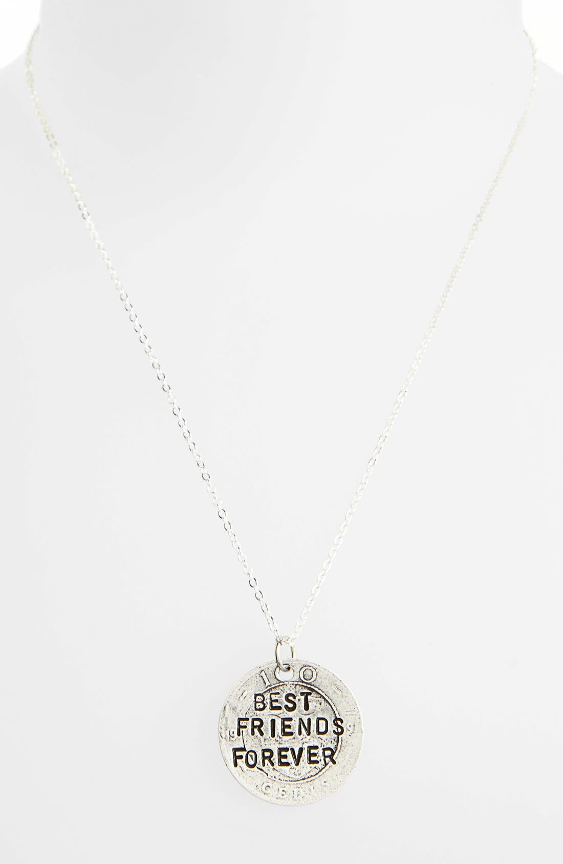 Alternate Image 1 Selected - Alisa Michelle Designs 'Best Friends Forever' Pendant Necklace