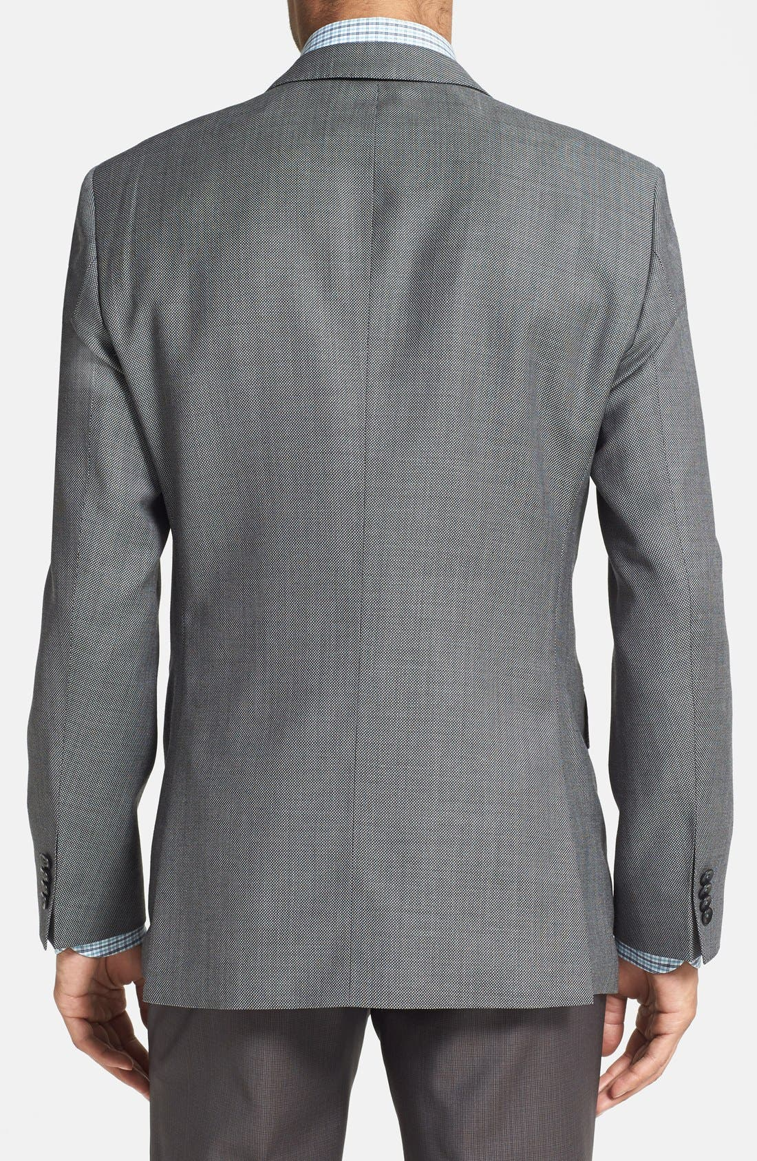 Alternate Image 2  - BOSS HUGO BOSS 'Keys' Trim Fit Wool Sport Coat (Online Only)