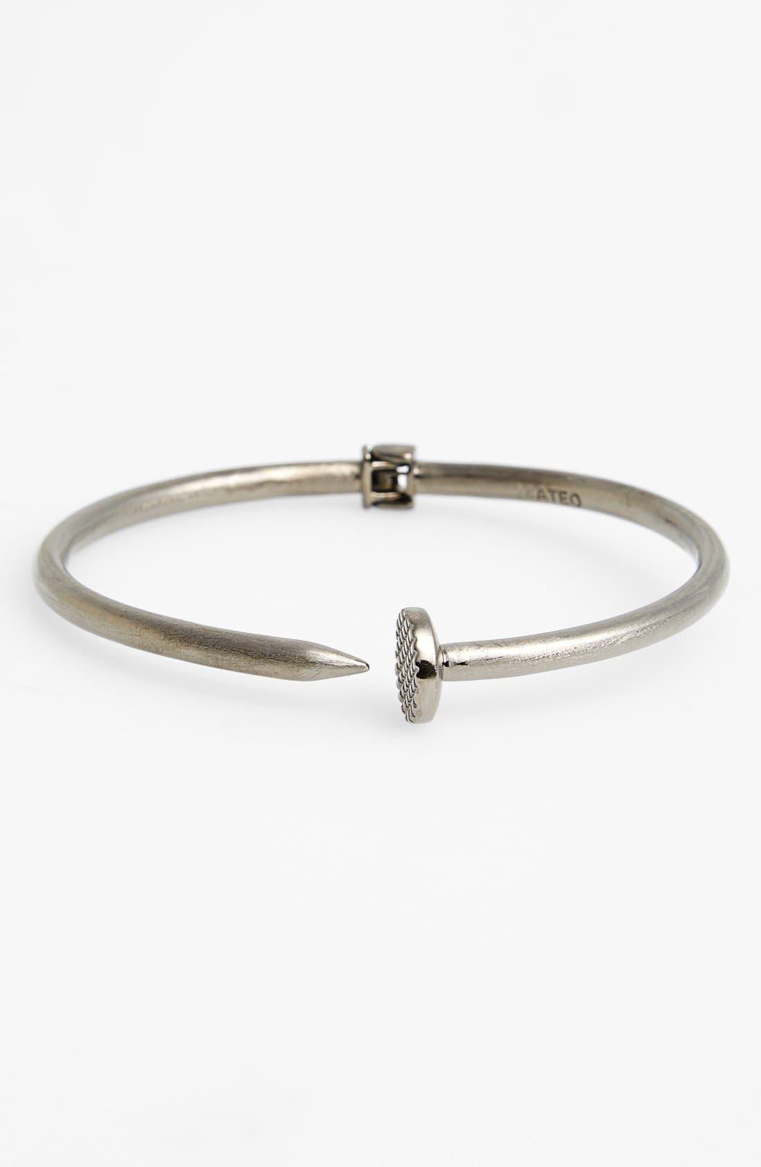 Alternate Image 1 Selected - Mateo Bijoux Hinged Nail Bracelet