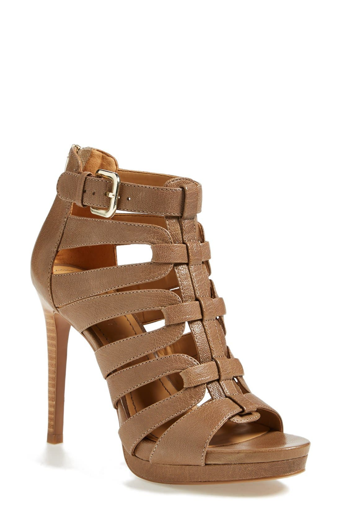 Main Image - Nine West 'Bridgider' Cage Sandal (Online Only) (Women)