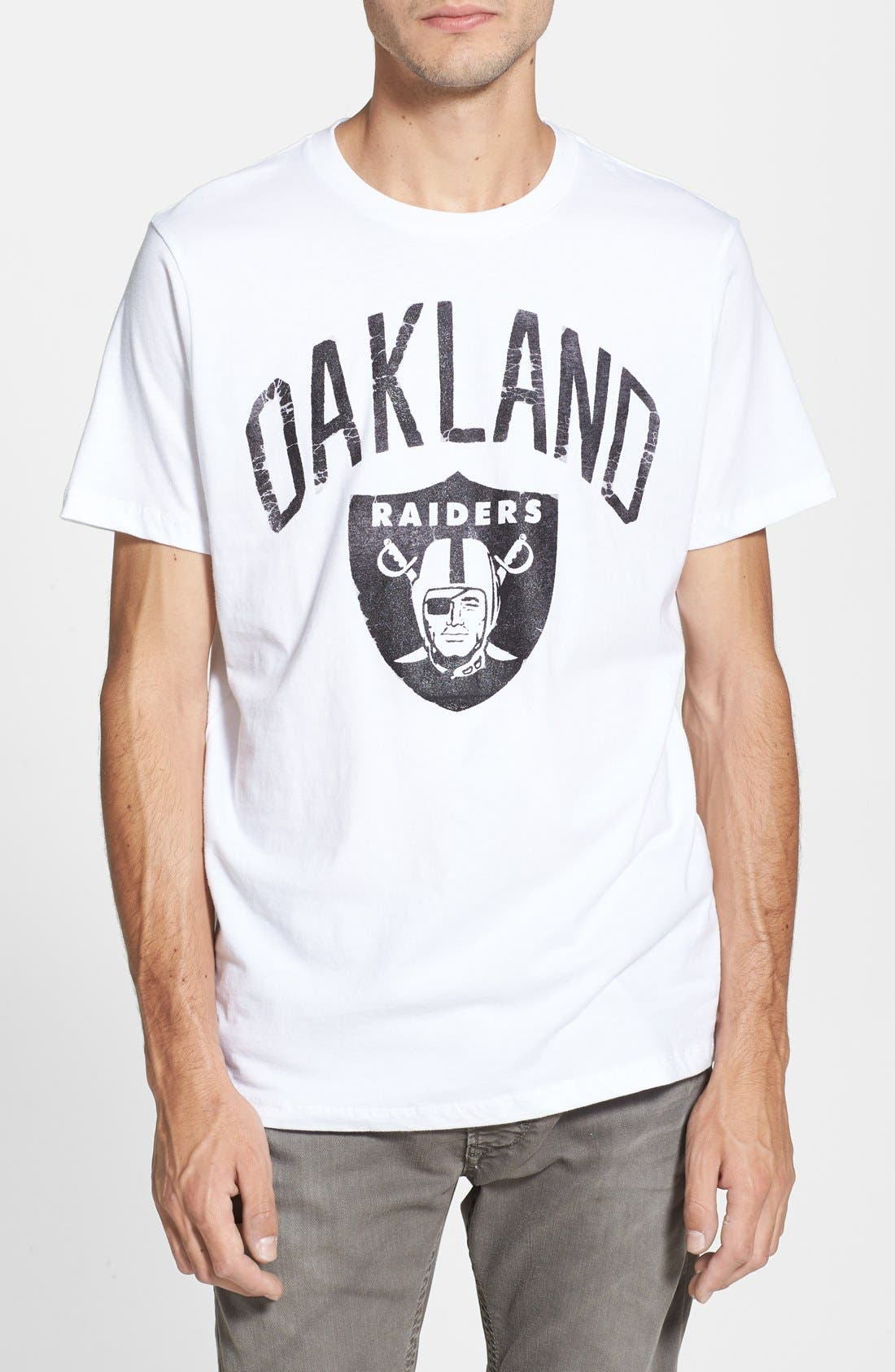 Main Image - Junk Food 'Oakland Raiders' Graphic T-Shirt