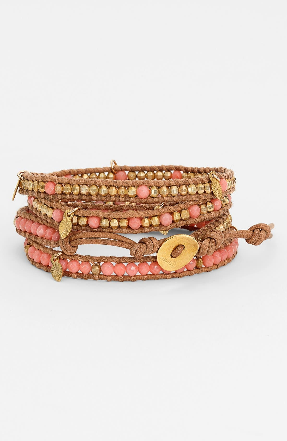 Alternate Image 1 Selected - Chan Luu Beaded Wrap Bracelet