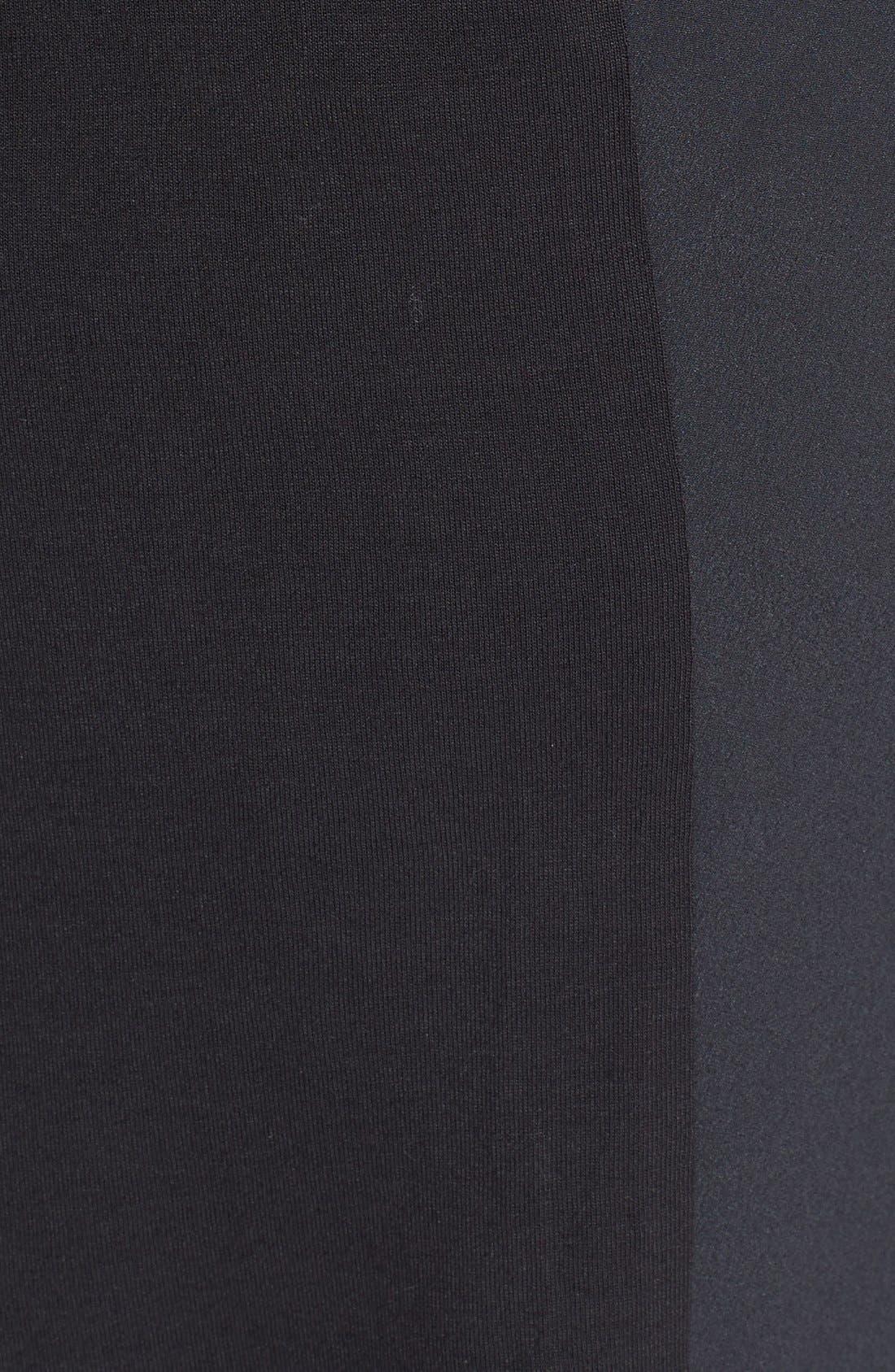 Alternate Image 3  - DKNYC Half Placket Shirtdress (Plus Size)