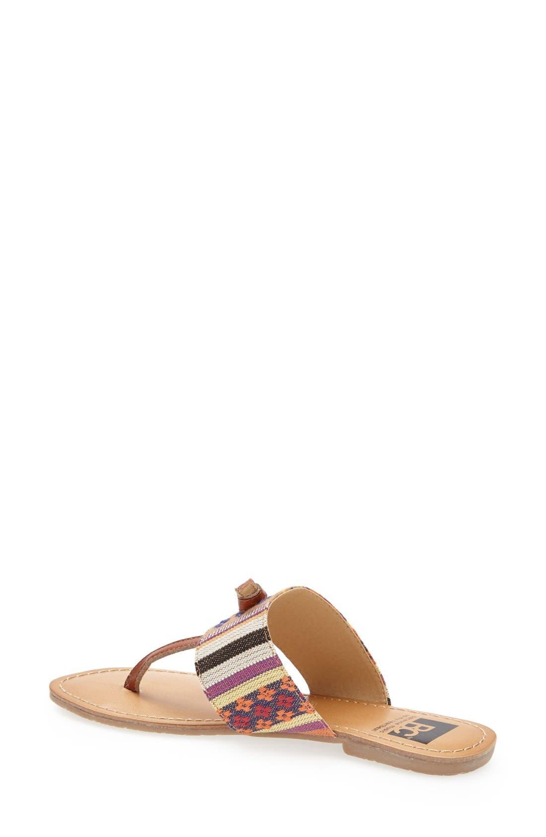 Alternate Image 2  - BC Footwear 'Gotta Try' Thong Sandal (Women)
