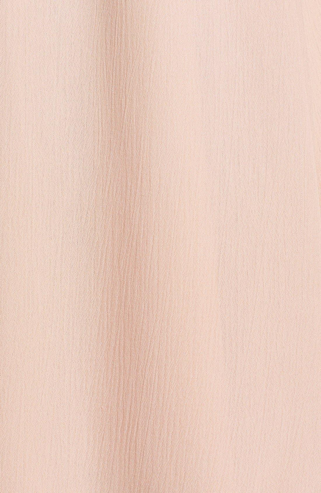 Alternate Image 3  - Dirty Ballerina Ruffle One-Shoulder Dress