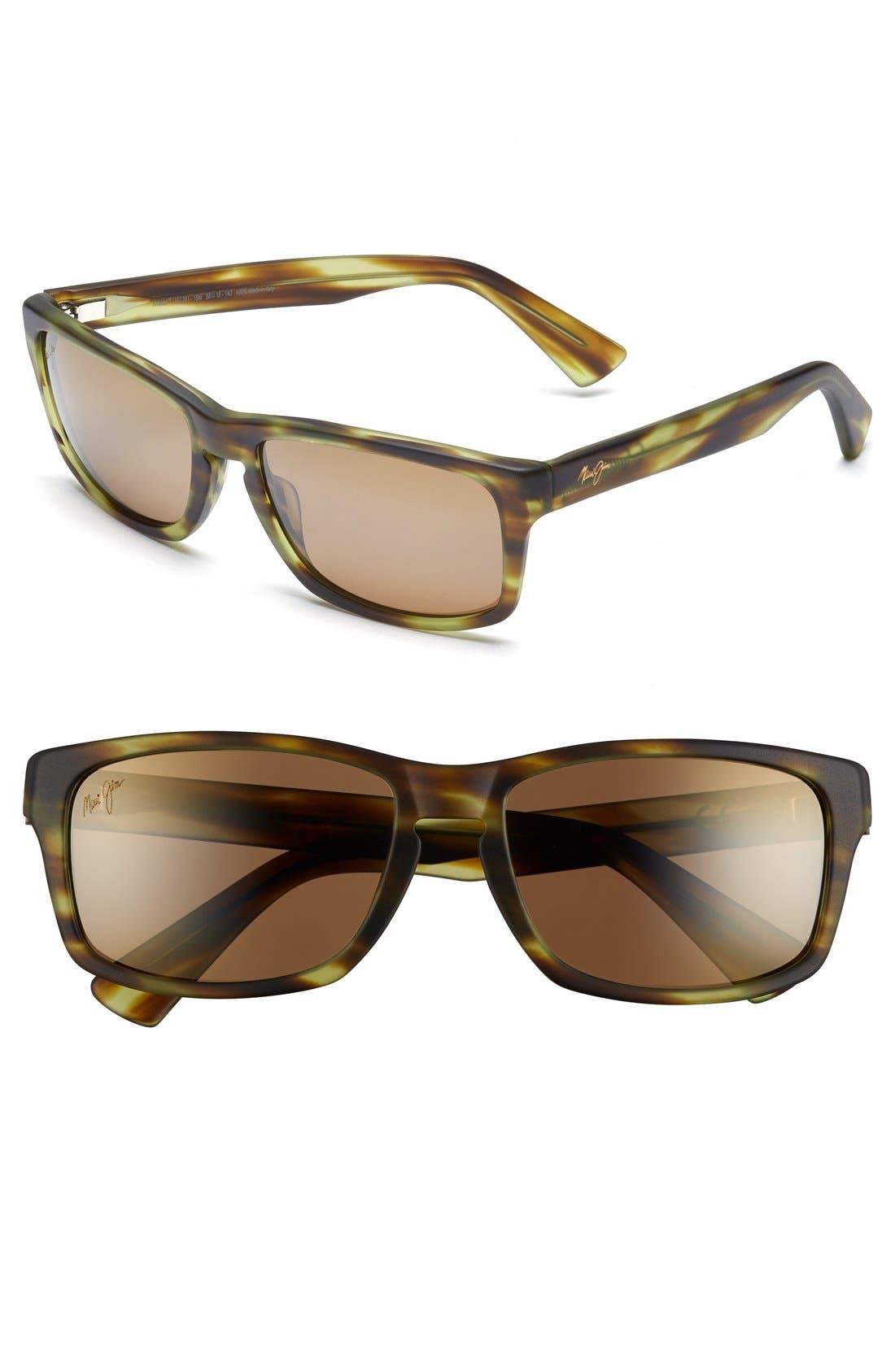 Alternate Image 1 Selected - Maui Jim 'McGregor Point - PolarizedPlus®2' 58mm Sunglasses