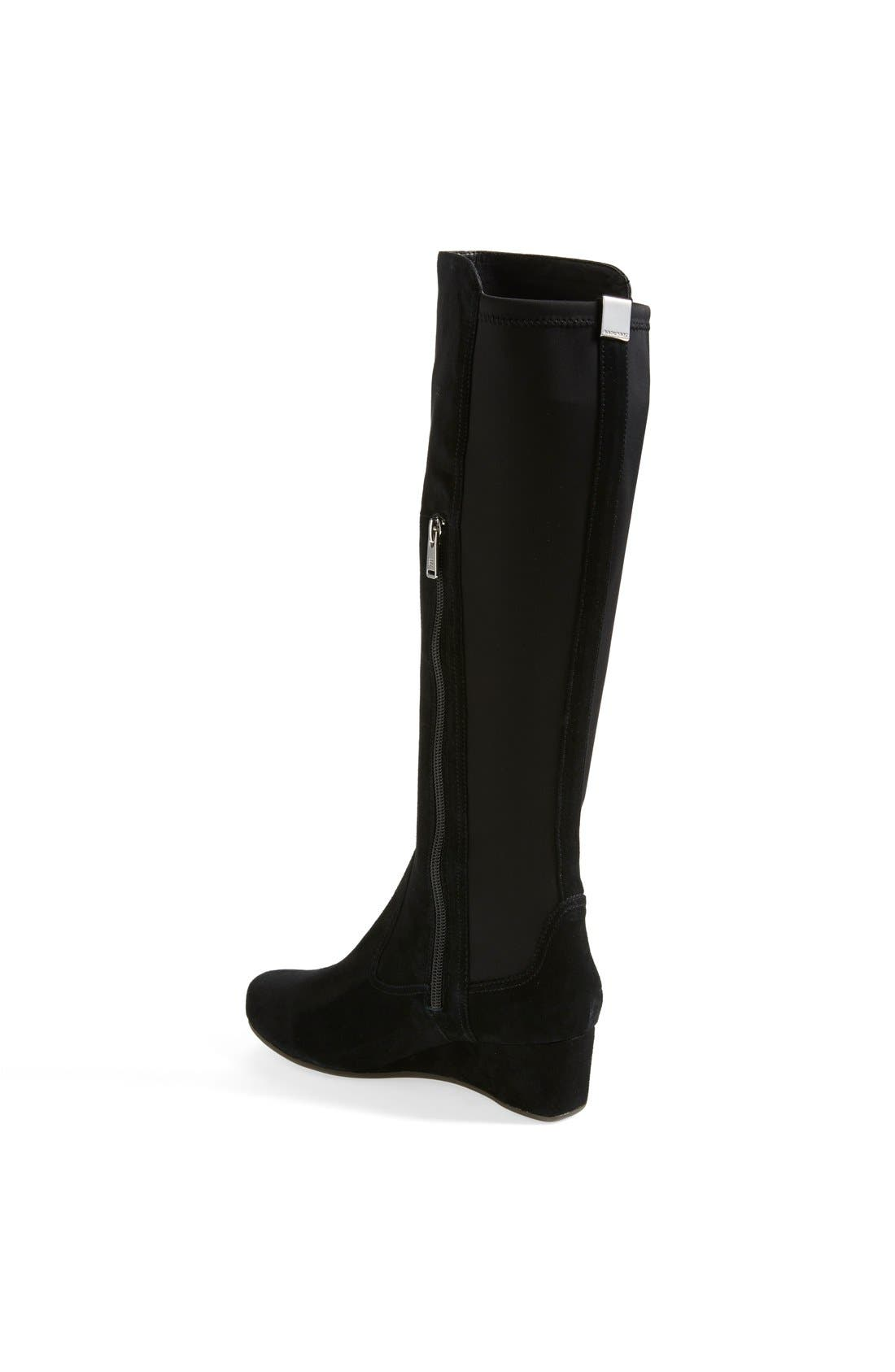 Alternate Image 2  - Rockport 'Total Motion' Knee High Wedge Boot (Women)