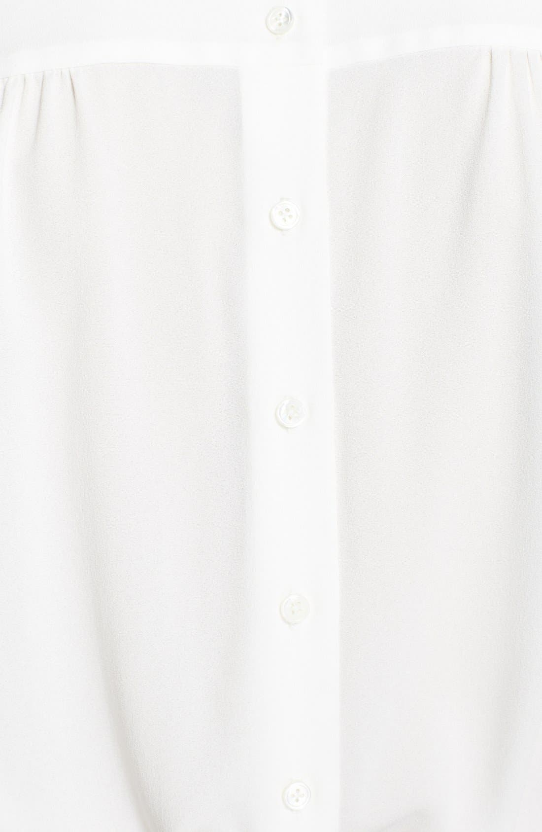 Alternate Image 4  - MARC JACOBS Button Front Silk Blouse
