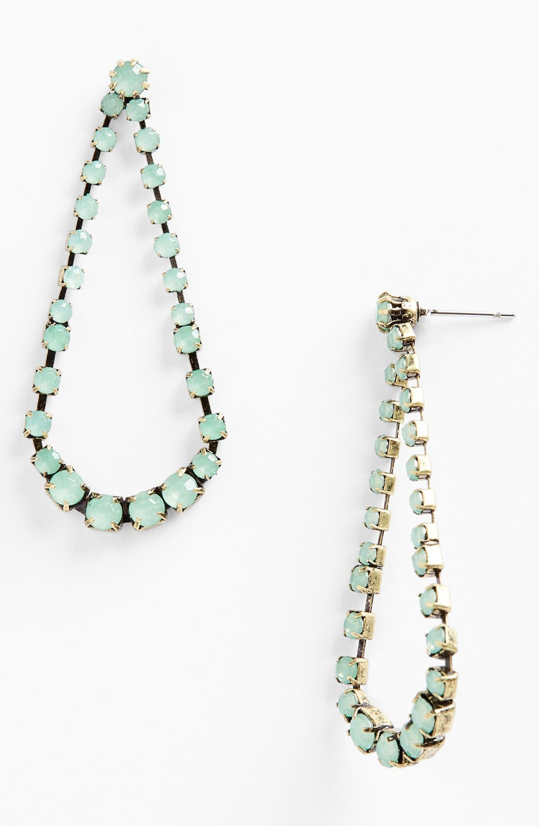 Main Image - Missing Piece Faceted Open Drop Earrings