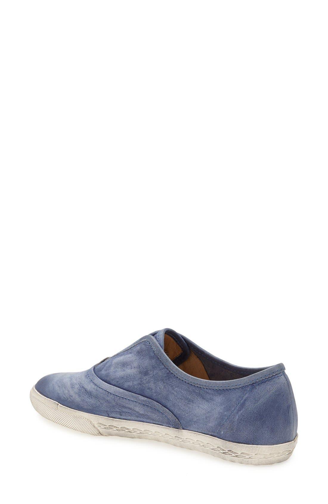 Alternate Image 2  - Frye 'Mindy' Slip-On Leather Sneaker (Women)