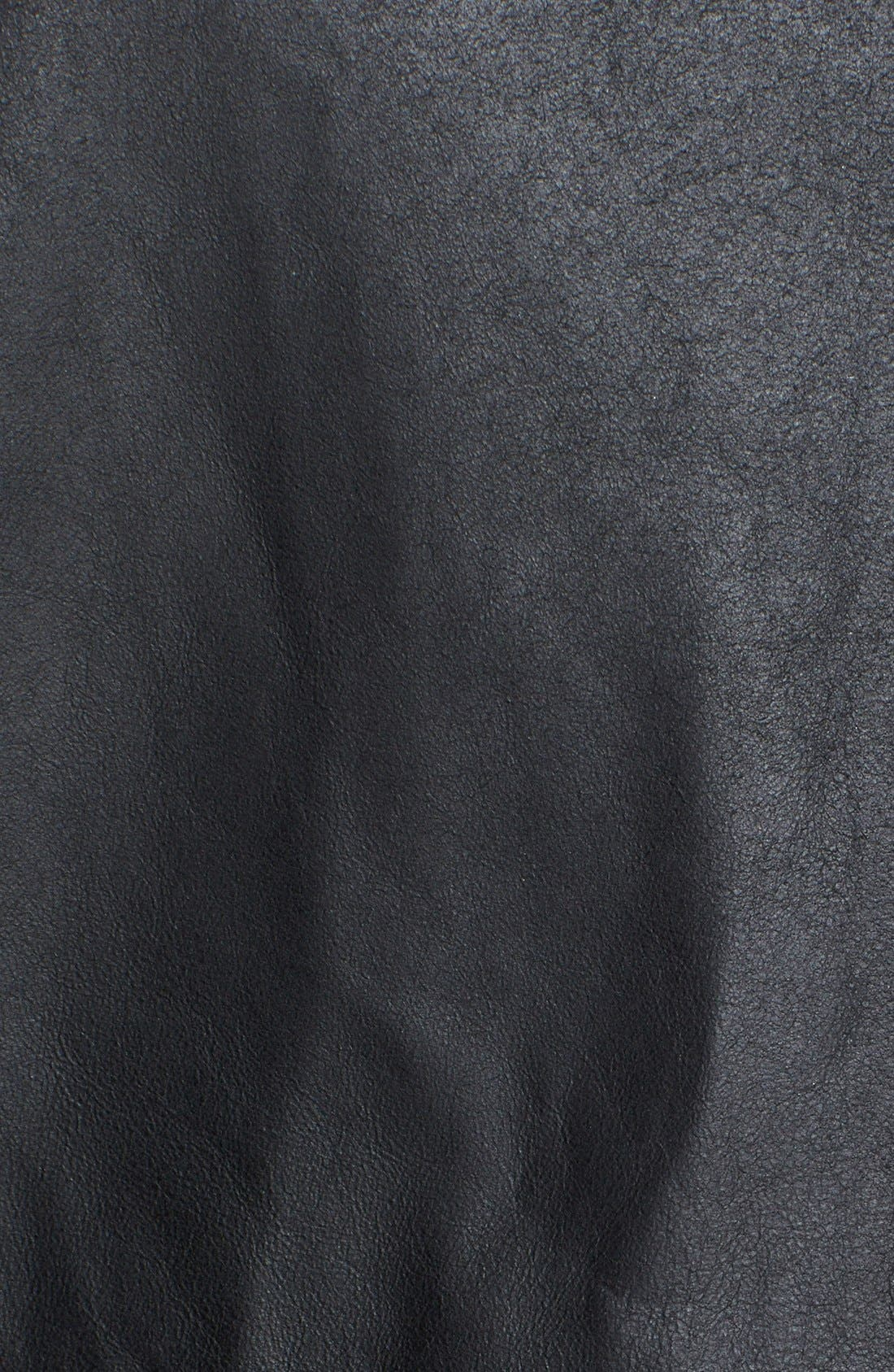 Alternate Image 3  - Equipment 'Kyle' Leather & Silk Top