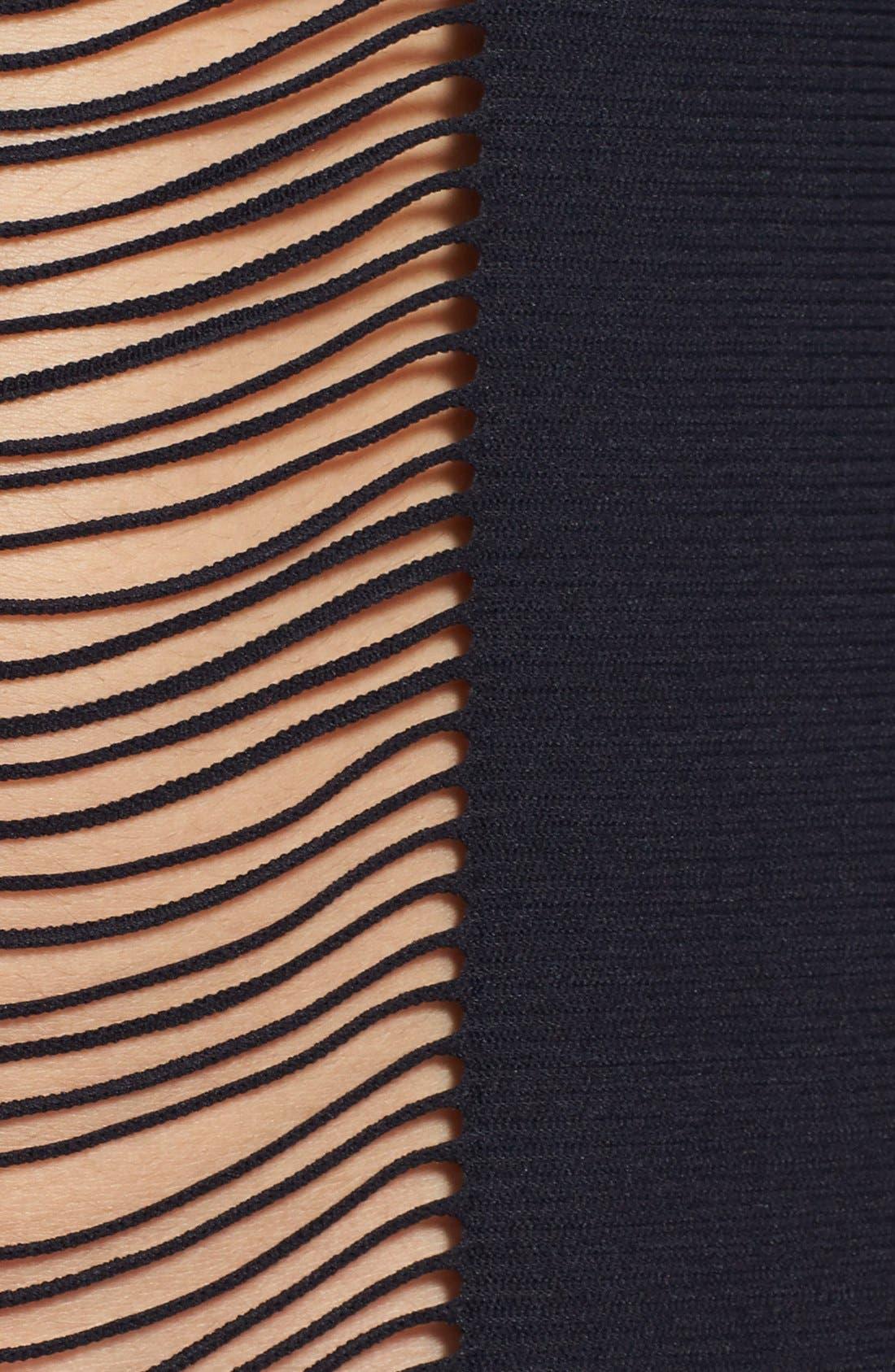 Alternate Image 3  - PilyQ 'Monique' Shredded Fringe Cover-Up Poncho