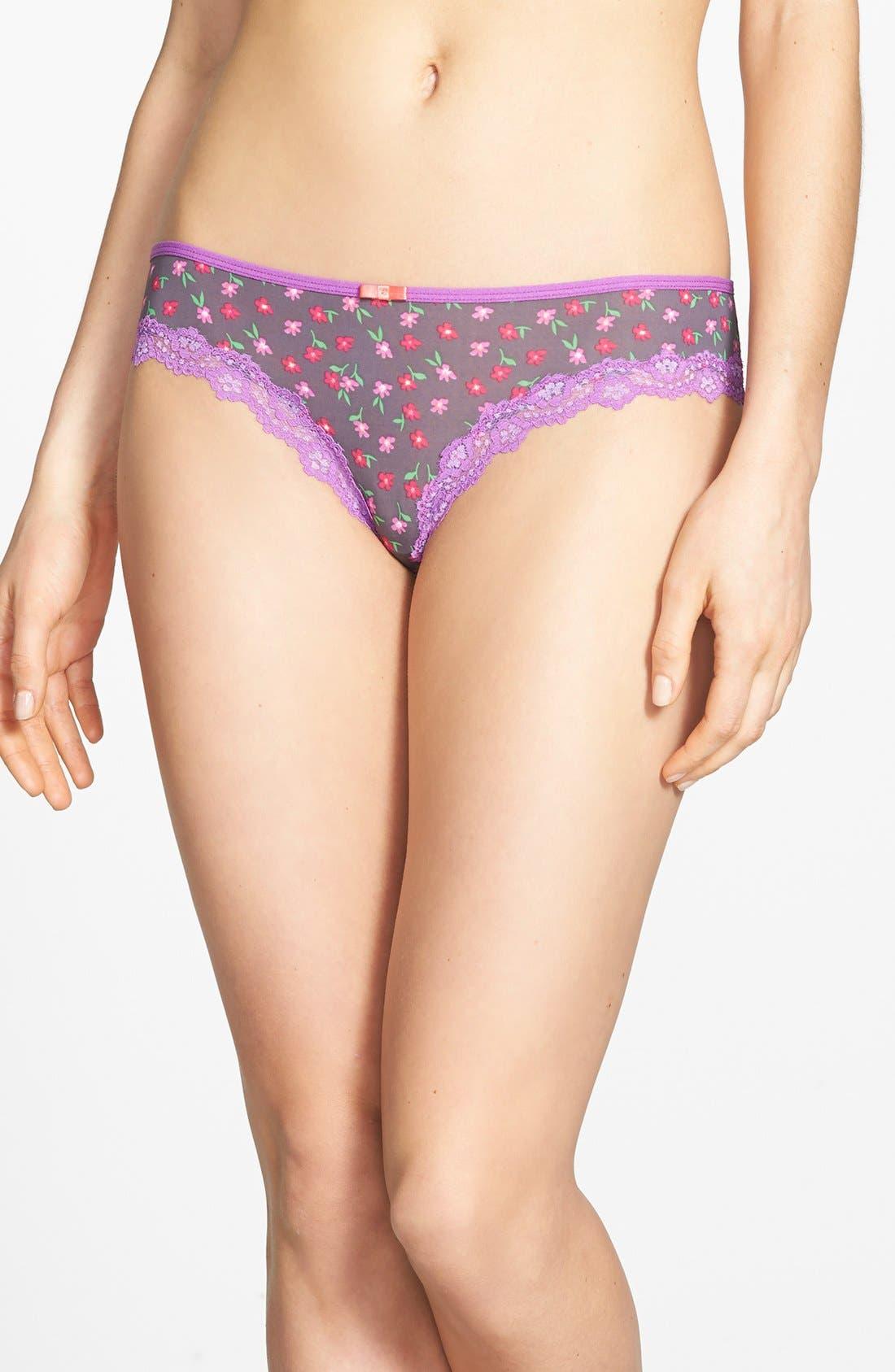 Main Image - Honeydew Intimates 'Emily' Lace Trim Bikini