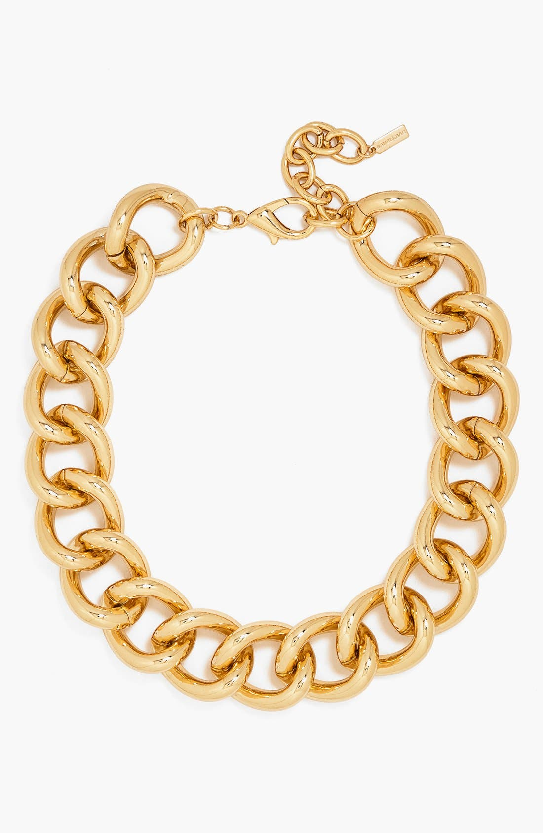 Main Image - BaubleBar Rolo Chain Link Collar Necklace