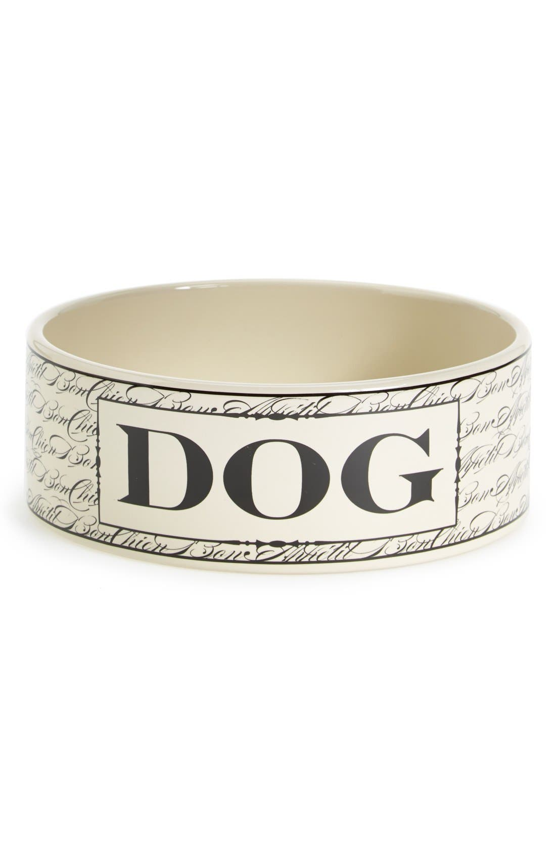 Alternate Image 1 Selected - Harry Barker 'Bon Chien' Ceramic Dog Bowl