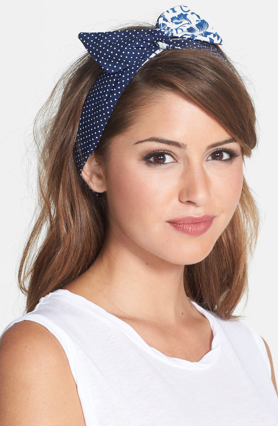 Alternate Image 1 Selected - Berry Reversible Wire Head Wrap