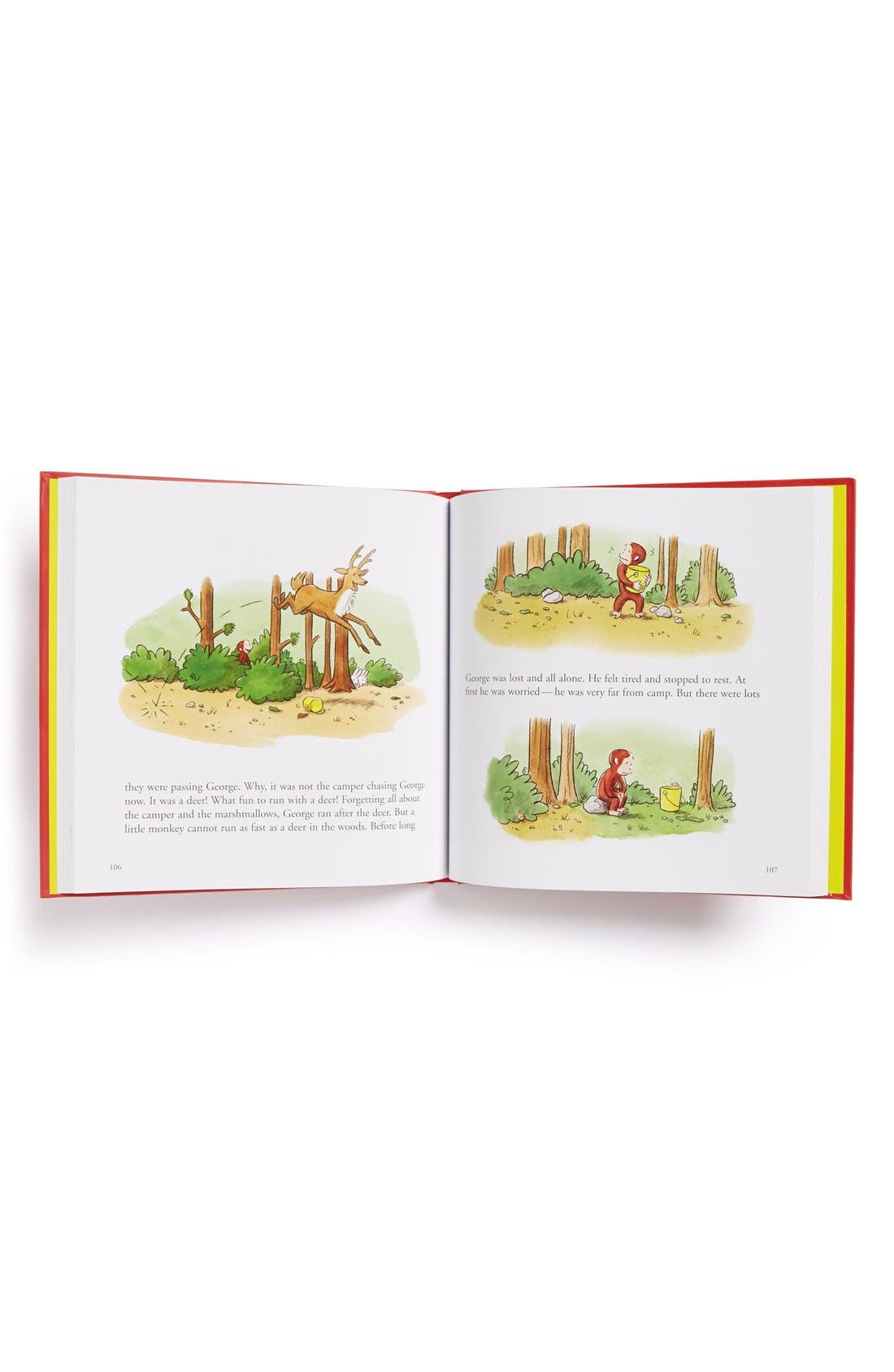 Alternate Image 2  - 'A Treasury of Curious George' Book