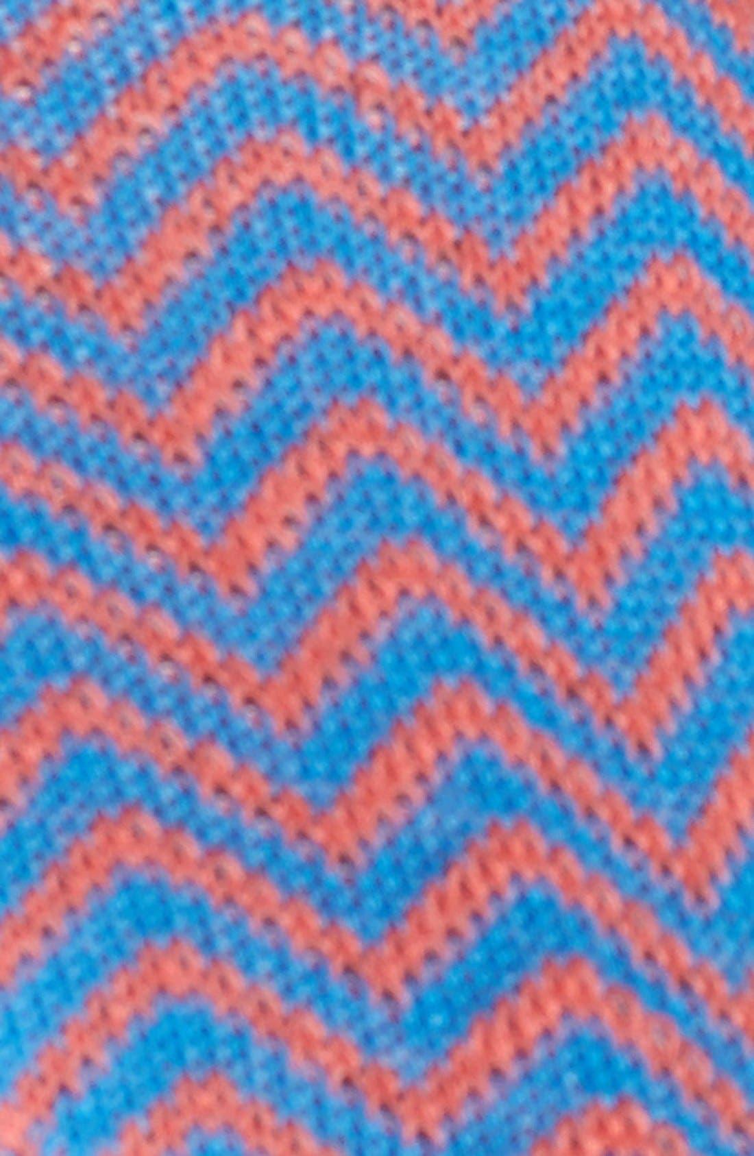Alternate Image 2  - Nordstrom Patterned Cotton Blend Footie Socks