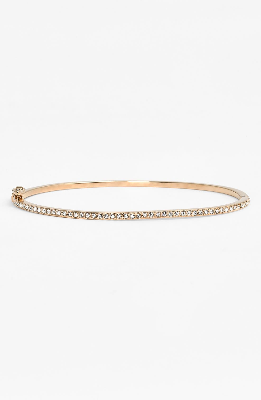 JUDITH JACK Boxed Skinny Pavé Hinge Bangle