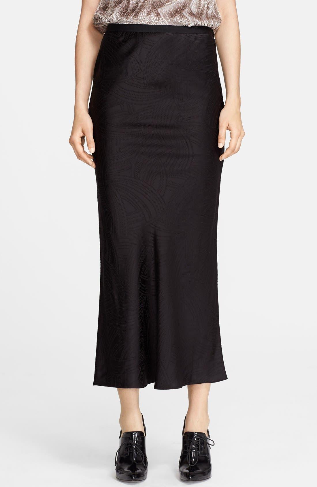 Alternate Image 1 Selected - Jason Wu Jacquard Midi Skirt