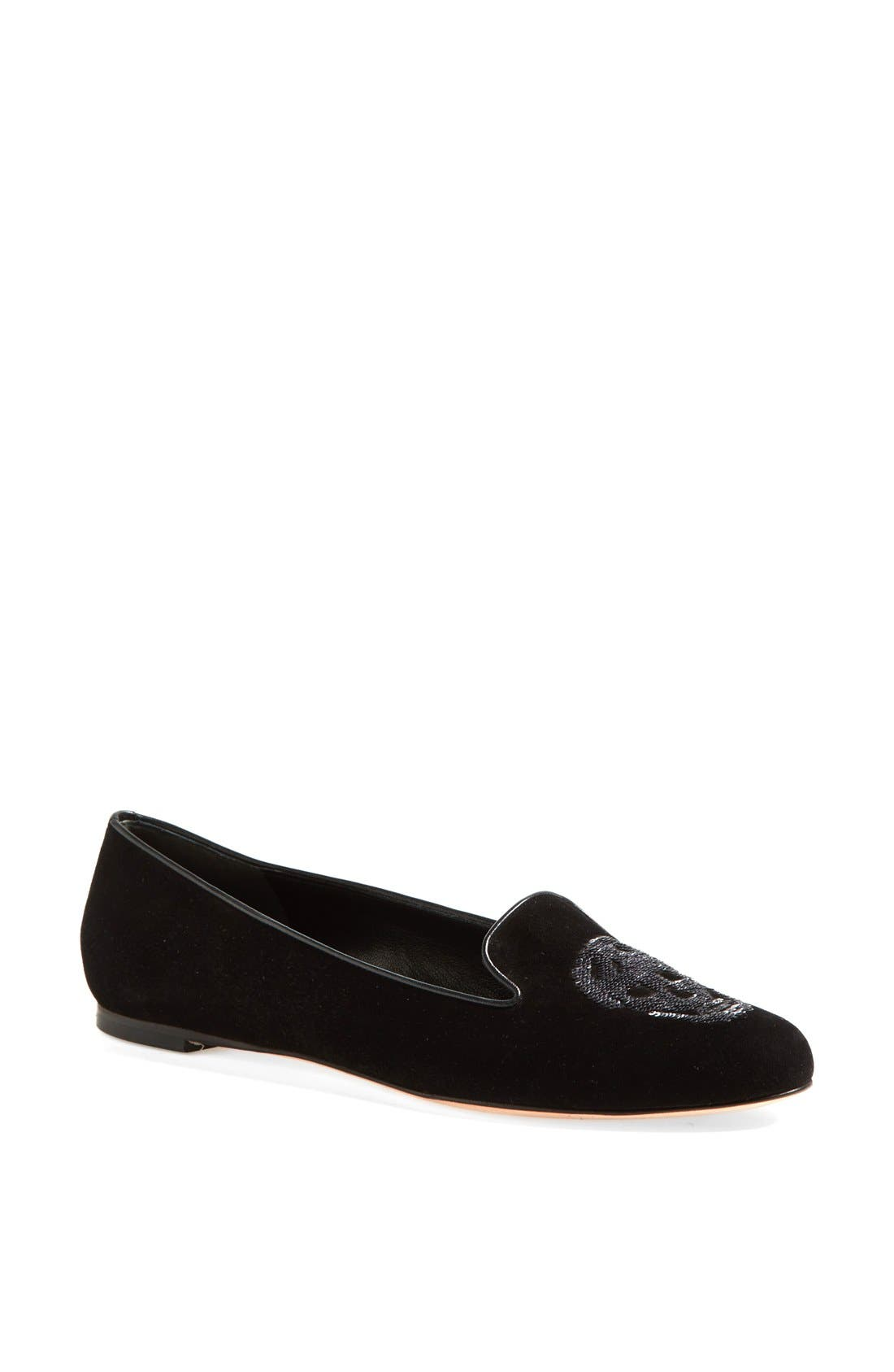 Alternate Image 1 Selected - Alexander McQueen Skull Flat