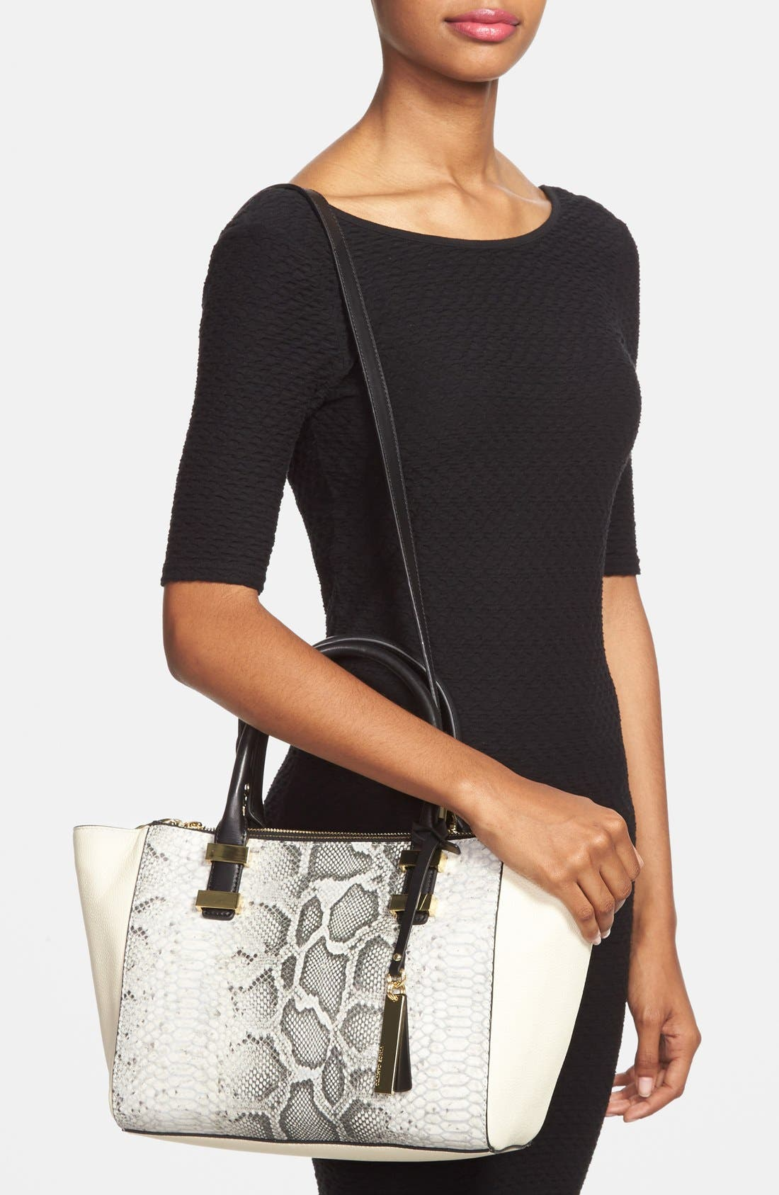 Alternate Image 2  - Vince Camuto 'Mandy' Leather Satchel