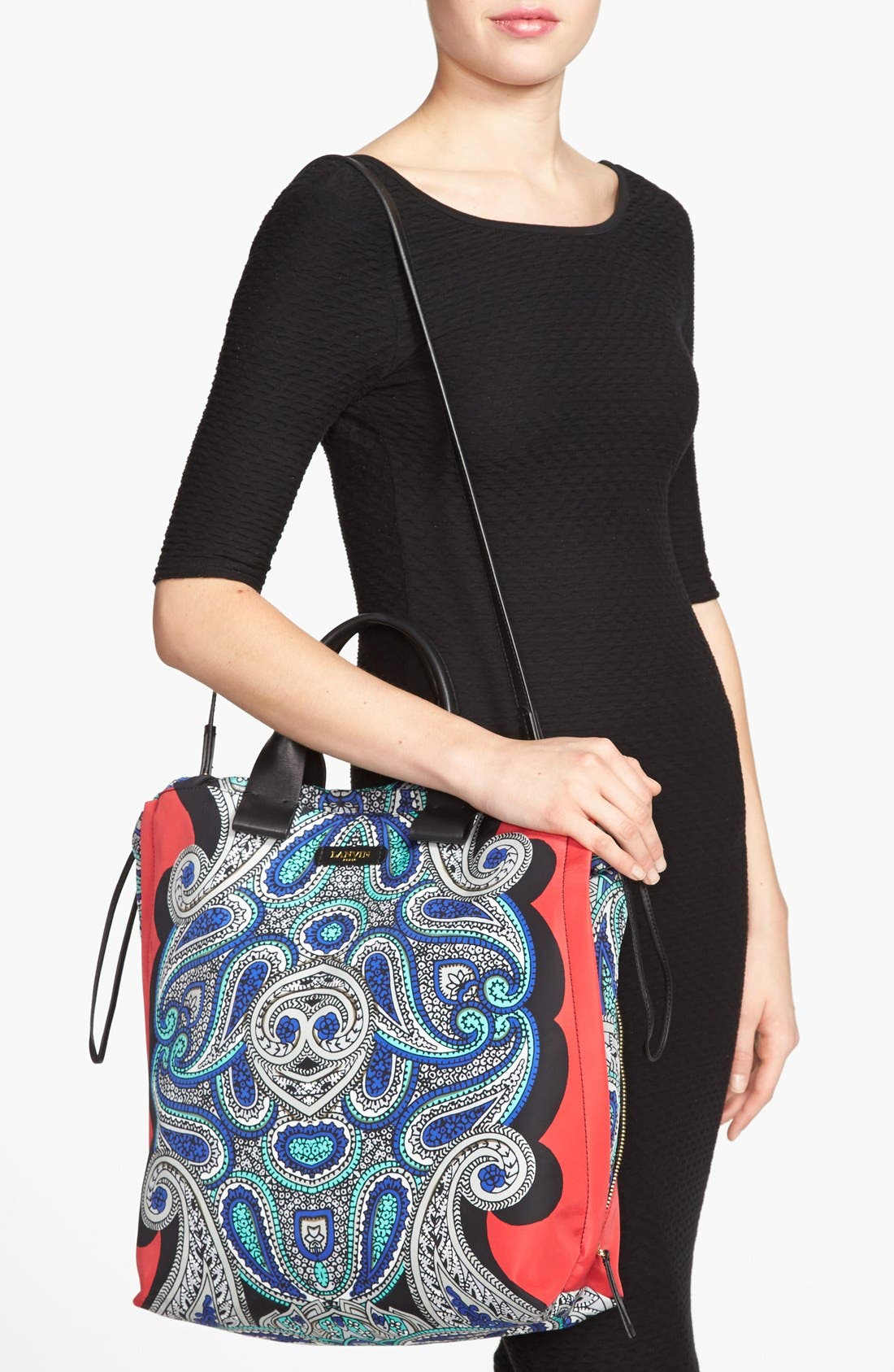 Alternate Image 2  - Lanvin 'Padam Paisley' Shopper