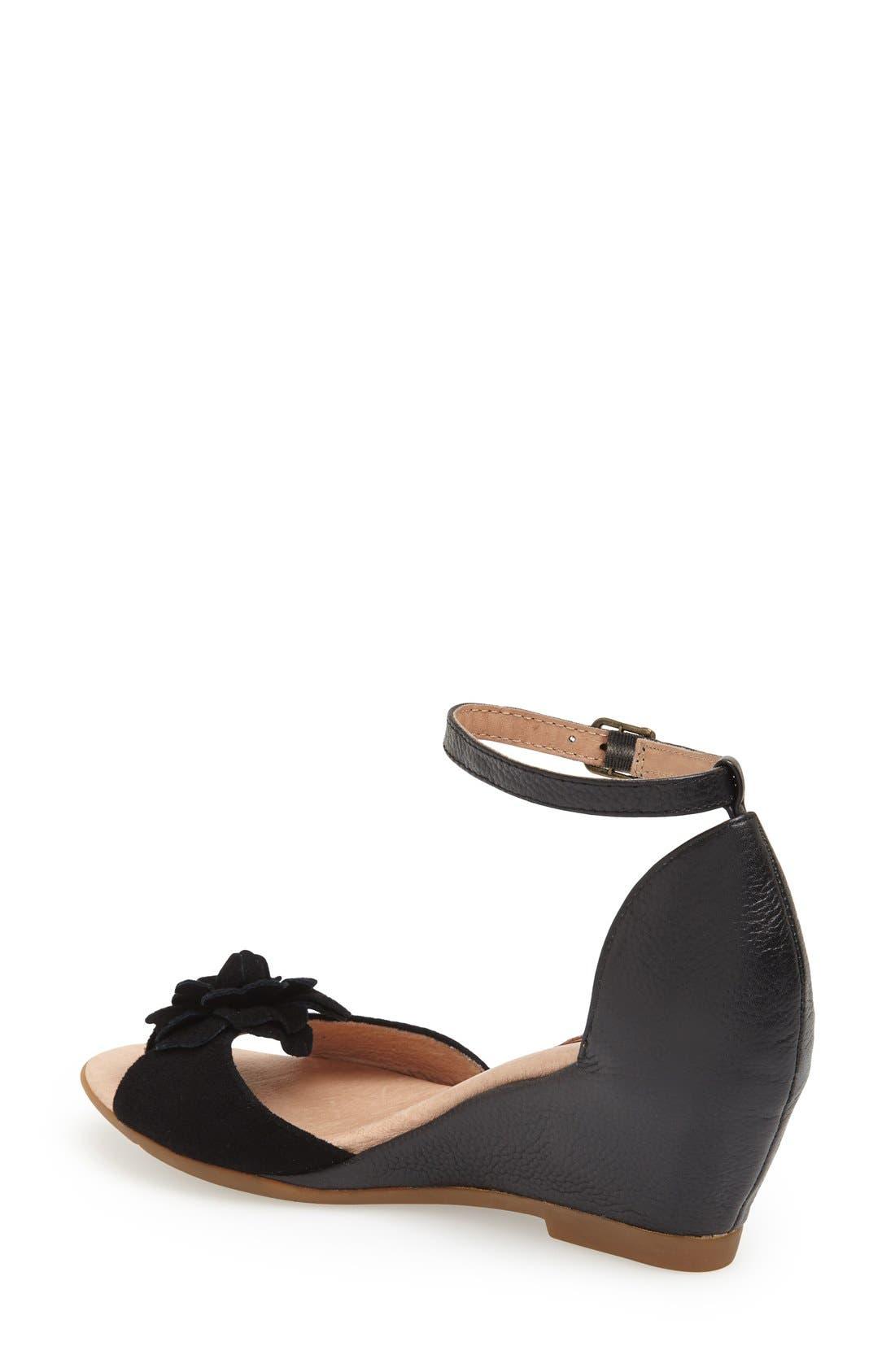 Alternate Image 2  - Miz Mooz 'Carmen' Leather Wedge Sandal (Women)(Special Purchase)