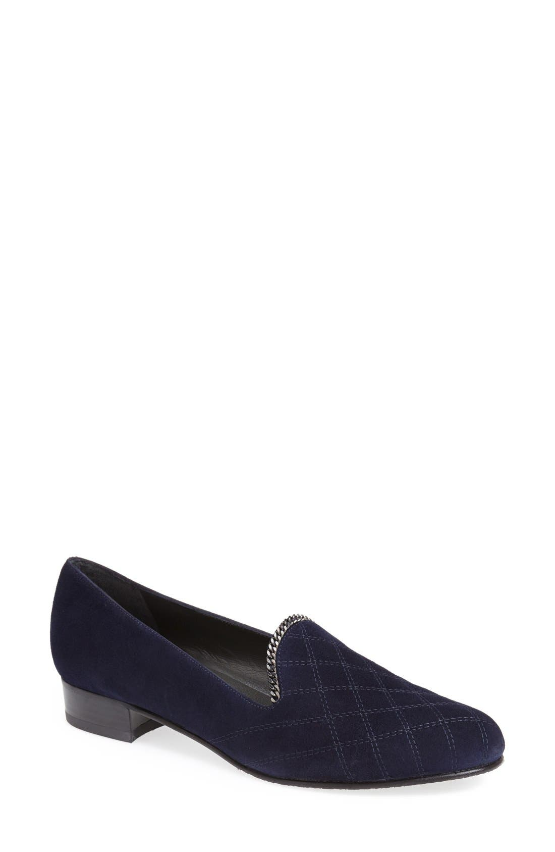 Alternate Image 1 Selected - Stuart Weitzman 'Hallmark' Flat (Women)