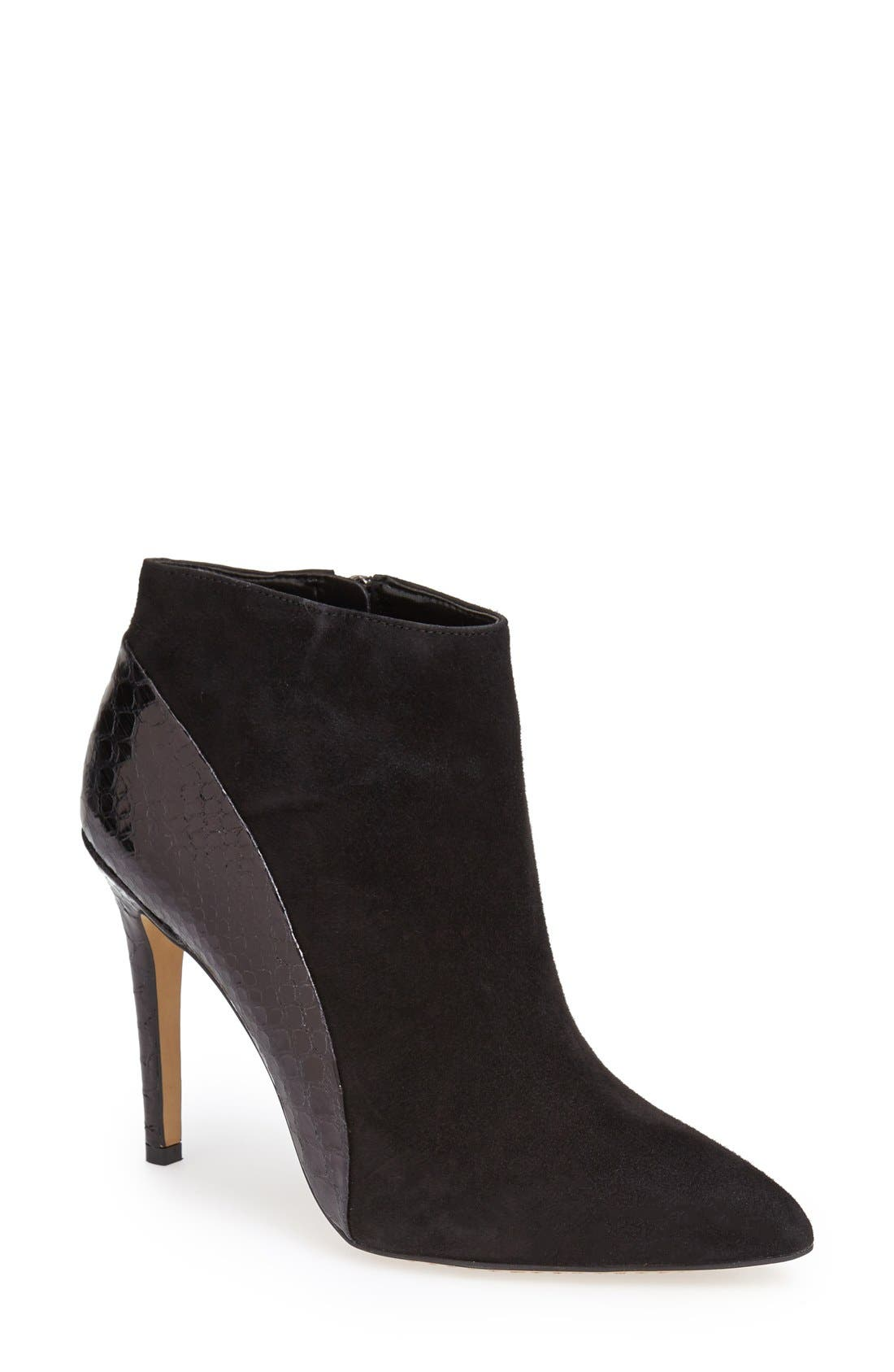 Alternate Image 1 Selected - Vince Camuto 'Kasi' Pointy Toe Bootie (Nordstrom Exclusive) (Women)
