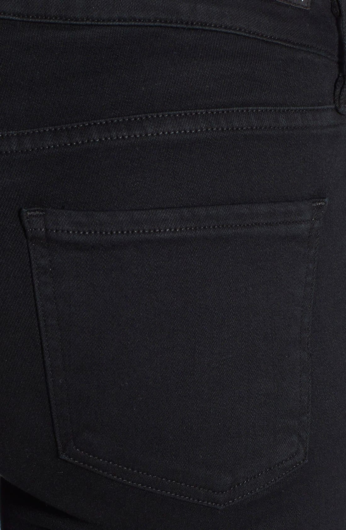 Alternate Image 3  - Citizens of Humanity 'Arielle' Mid Rise Slim Jeans (Tuxedo)