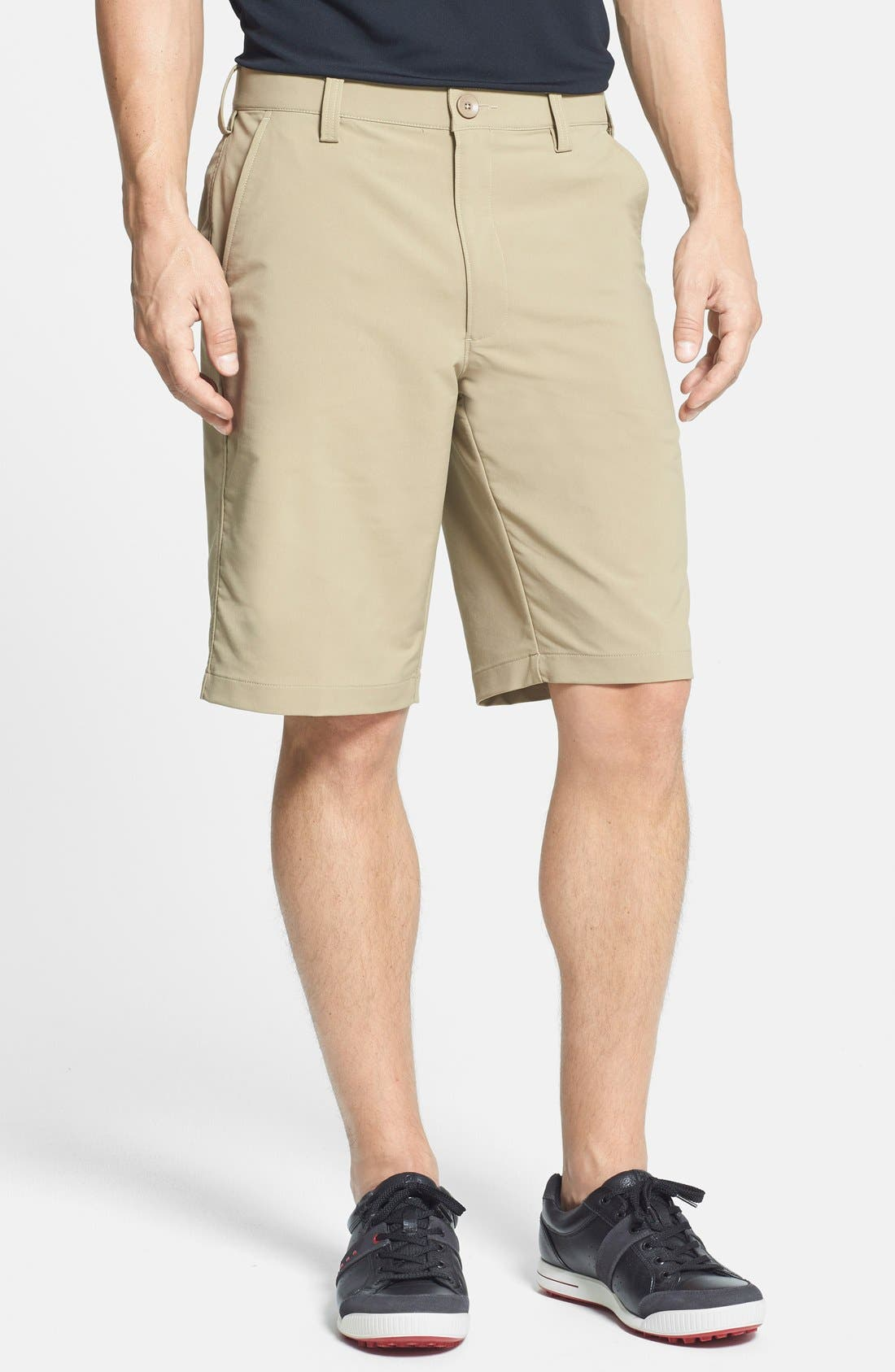 Main Image - Under Armour 'Bent Grass 2.0' Woven Golf Shorts