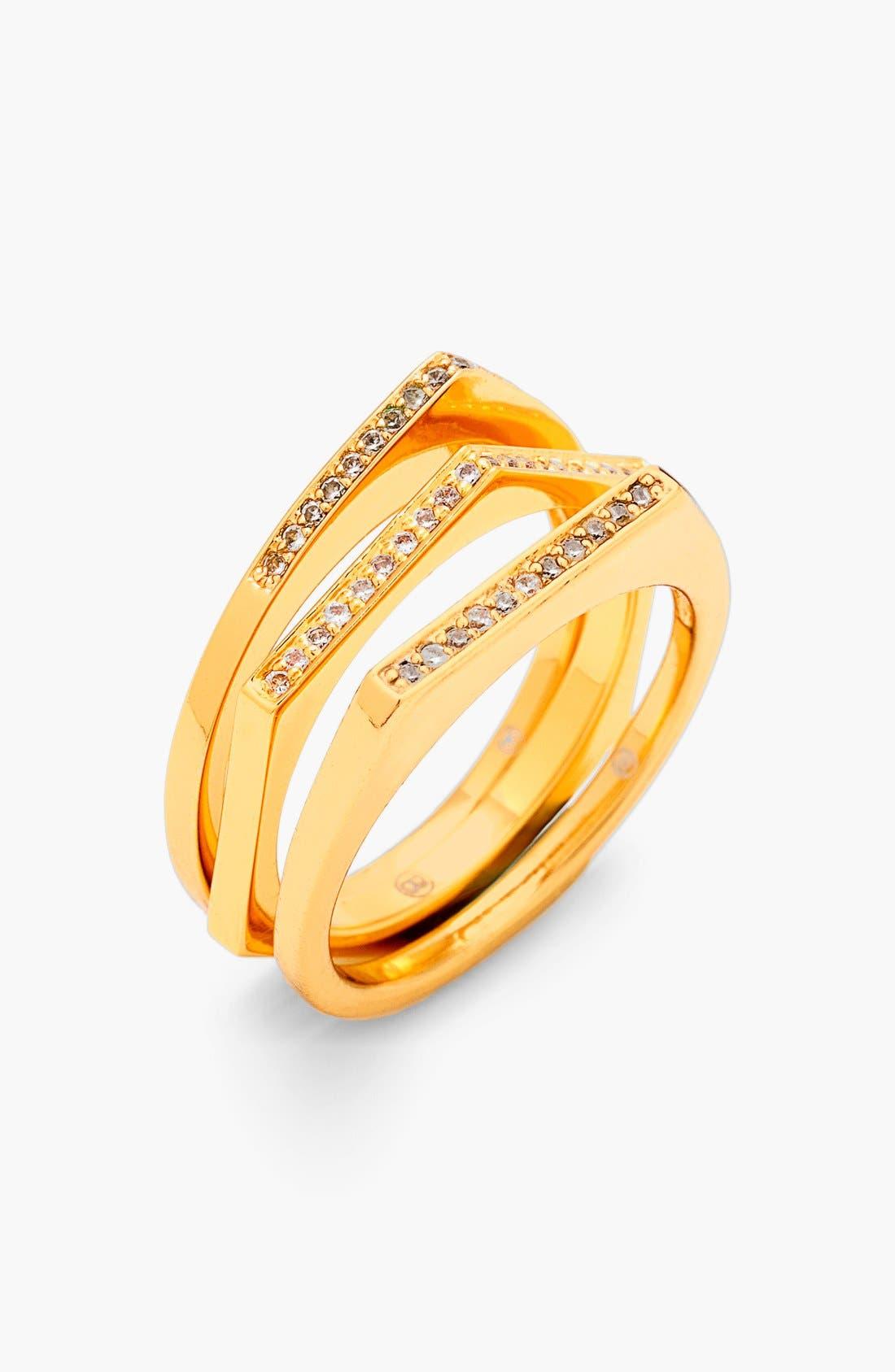 Main Image - gorjana 'Mila Shimmer' Stackable Rings (Set of 3)