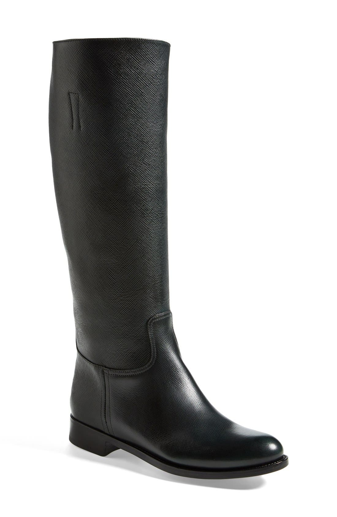 Alternate Image 1 Selected - Prada Riding Boot (Women)