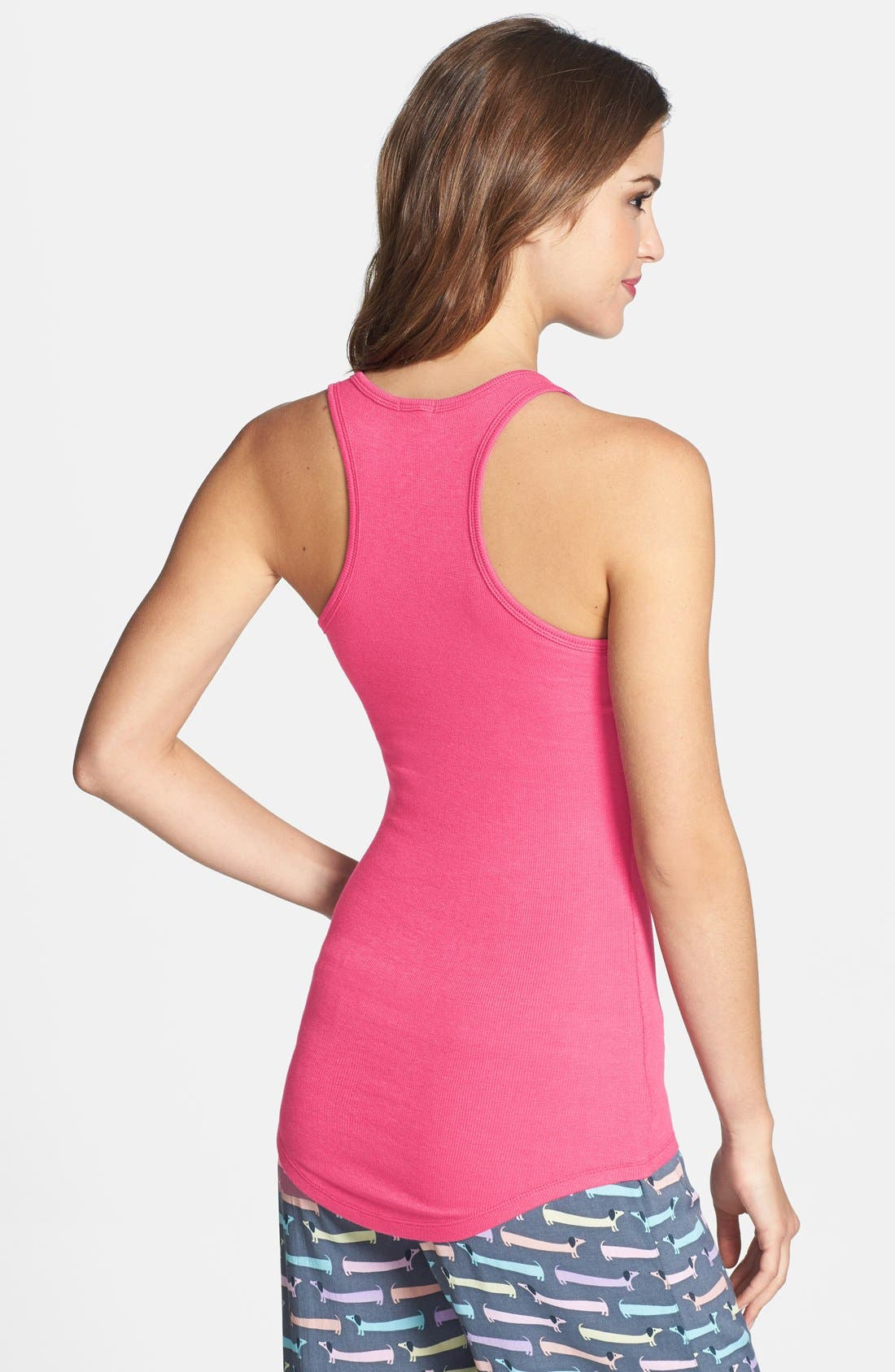 Alternate Image 2  - PJ Salvage 'Challe Chic' Ribbed Racerback Tank (Nordstrom Exclusive)