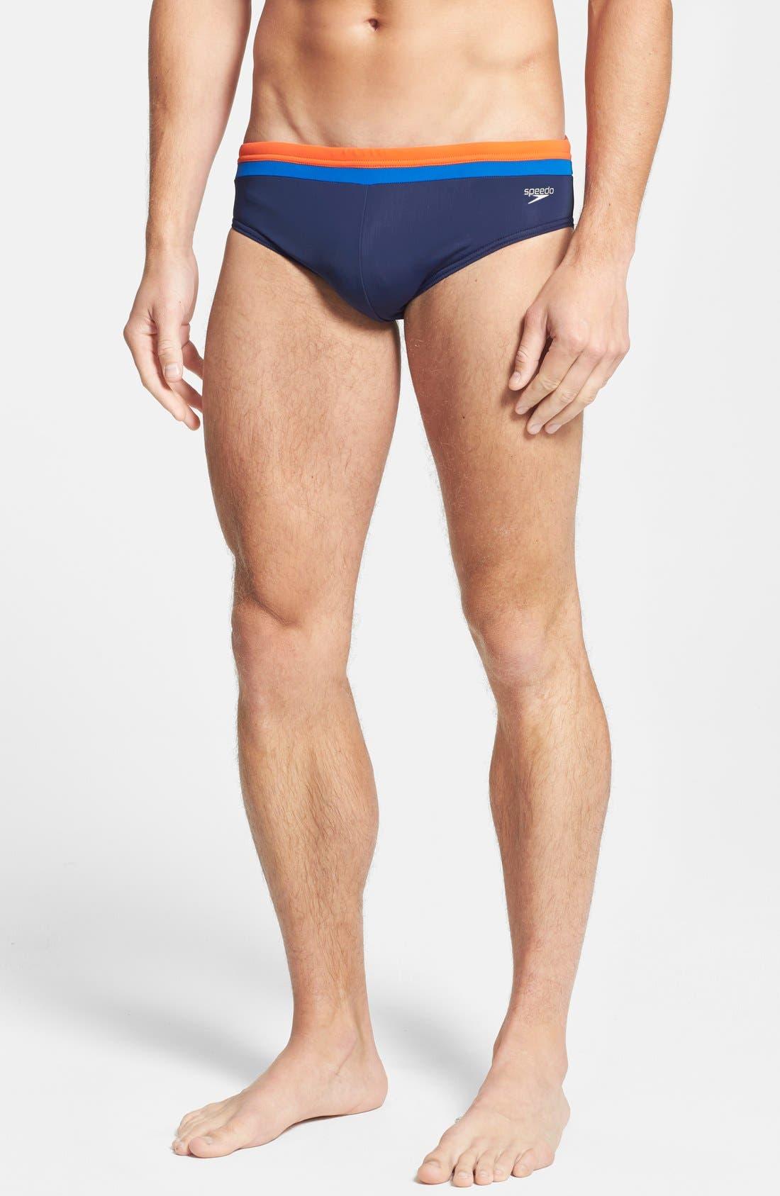Alternate Image 1 Selected - Speedo® Swim Briefs