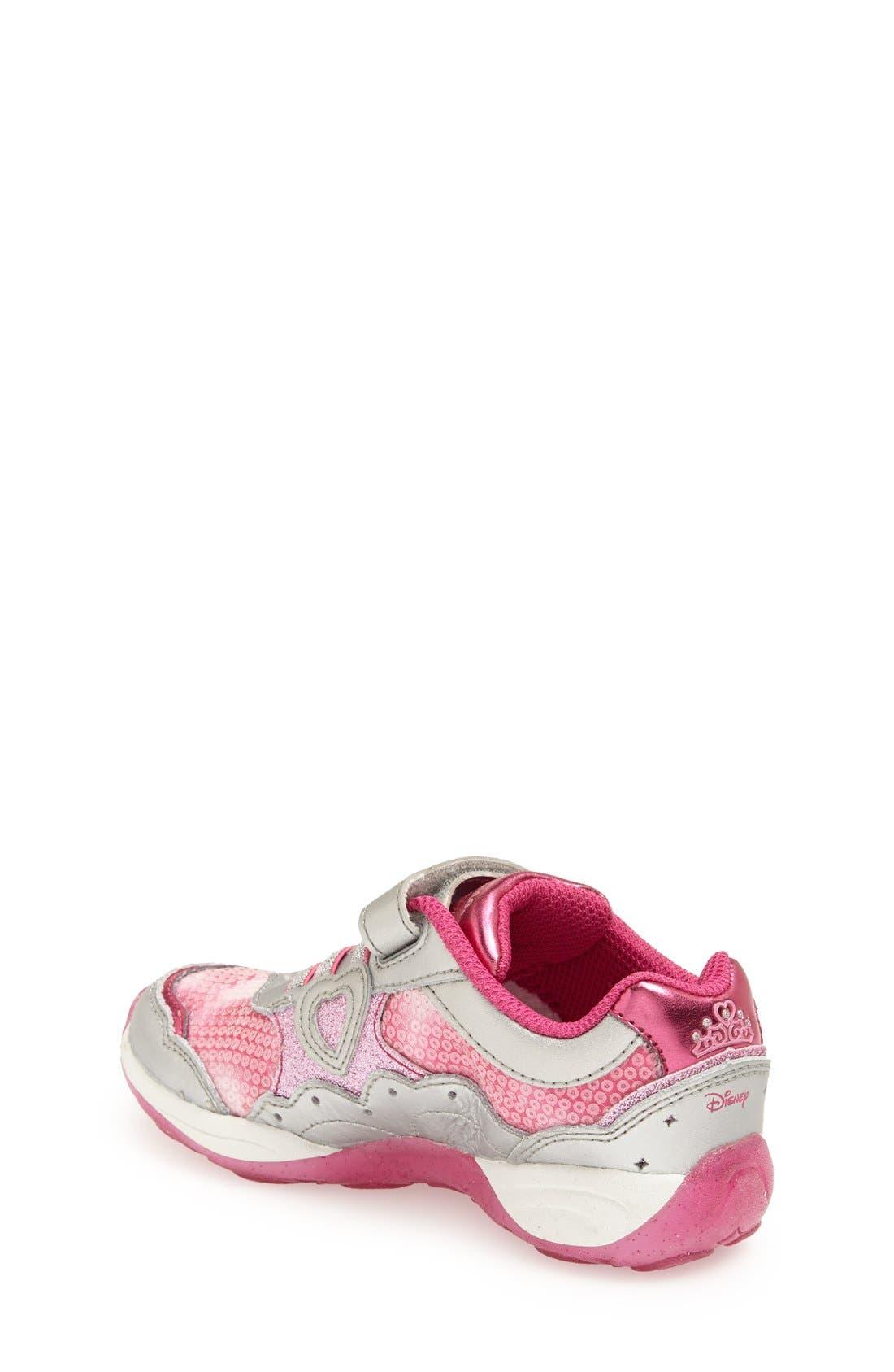 Alternate Image 2  - Stride Rite 'Disney Wish Lights - Belle' Light-Up Sneaker (Walker, Toddler & Little Kid)